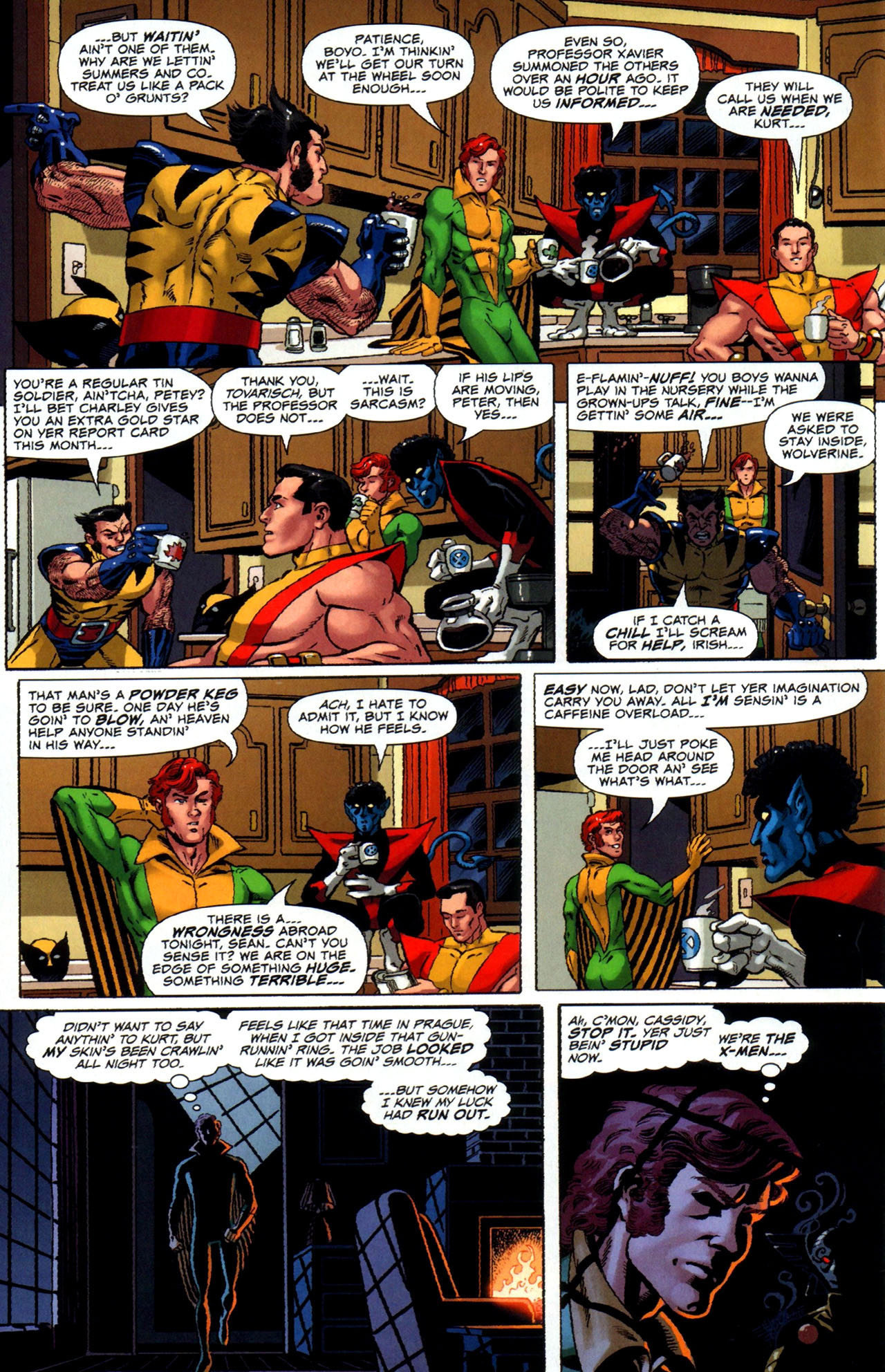 Read online Uncanny X-Men: First Class comic -  Issue #5 - 6