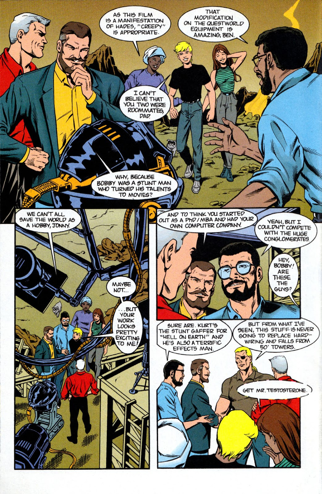Read online The Real Adventures of Jonny Quest comic -  Issue #7 - 4