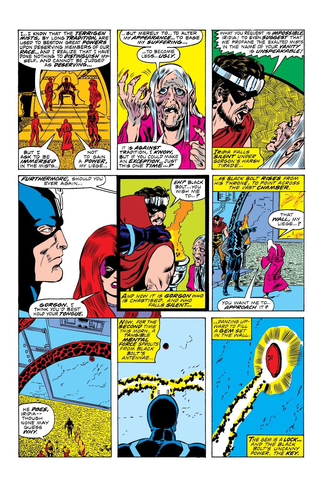 Read online Marvel Masterworks: The Inhumans comic -  Issue # TPB 2 (Part 1) - 12
