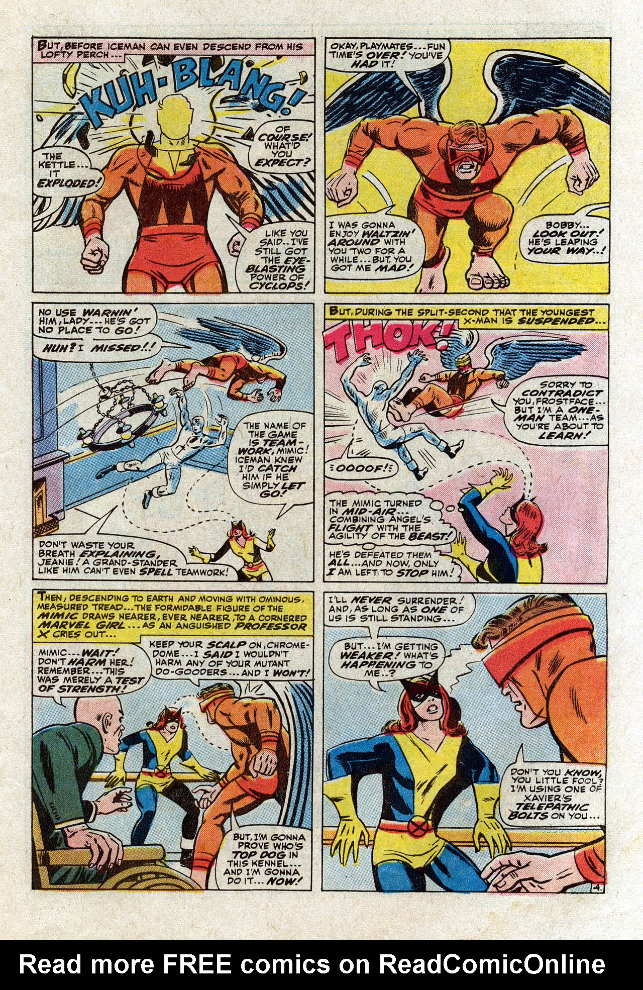 Read online Uncanny X-Men (1963) comic -  Issue #75 - 7