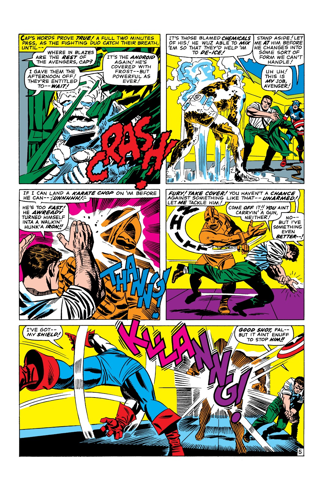 Read online Marvel Masterworks: The Invincible Iron Man comic -  Issue # TPB 3 (Part 3) - 96