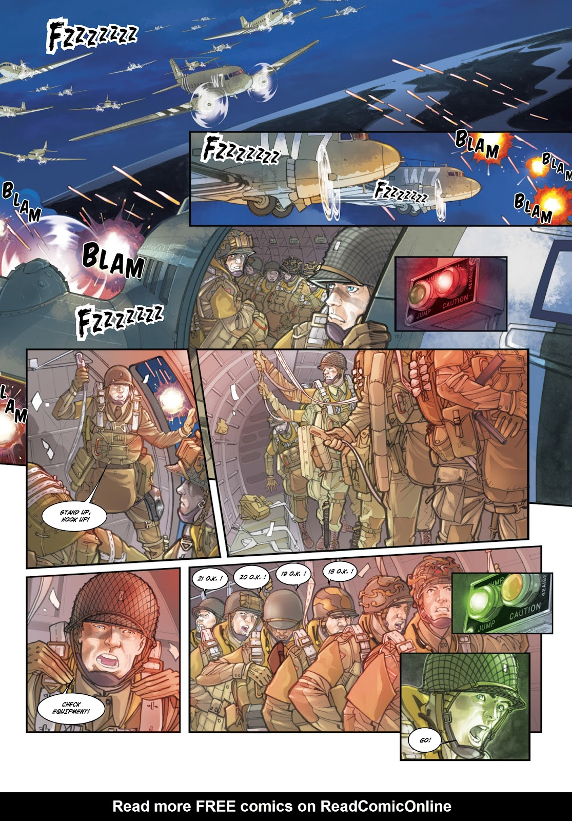 Read online Opération Overlord comic -  Issue #1 - 11