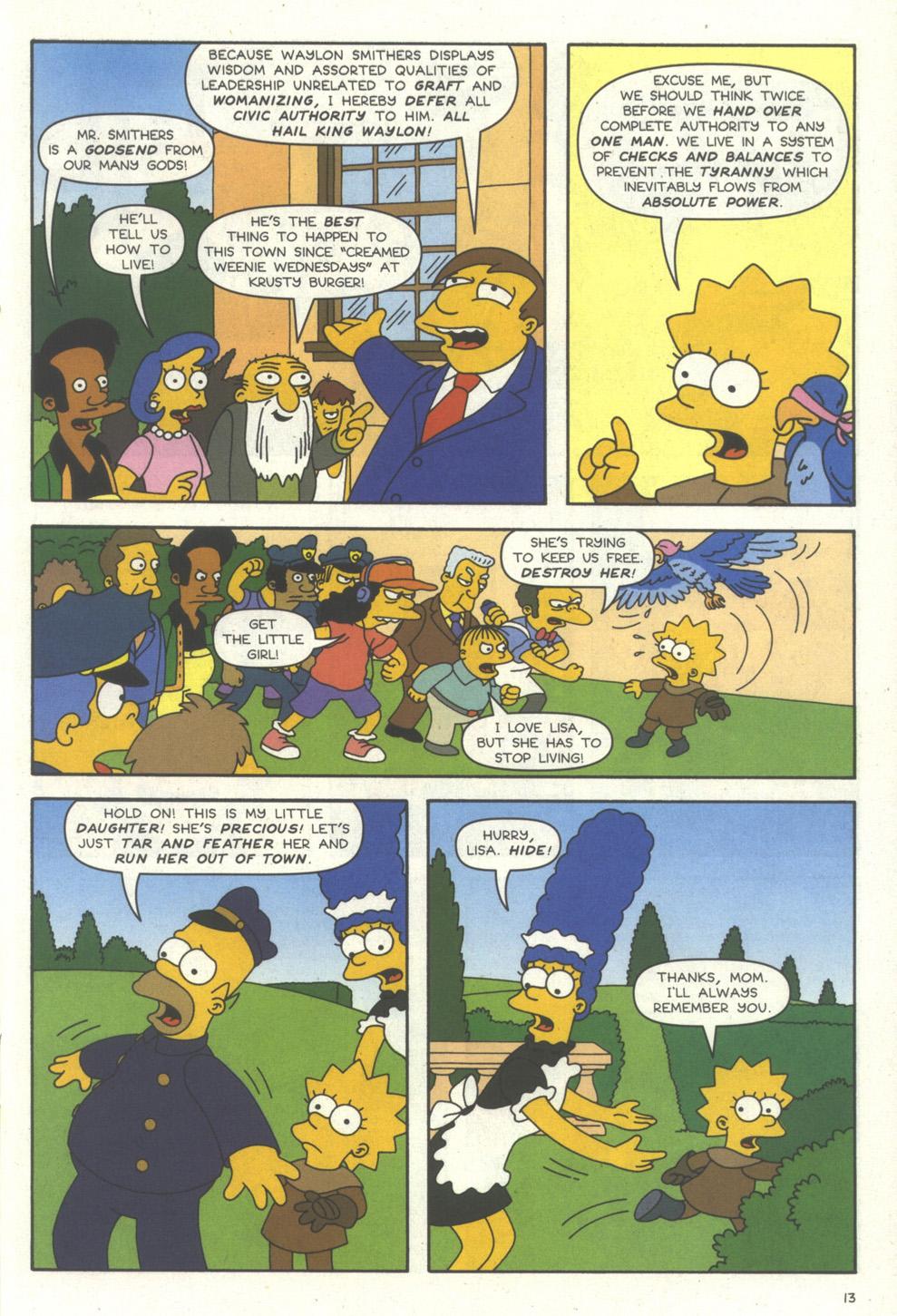 Read online Simpsons Comics comic -  Issue #56 - 14