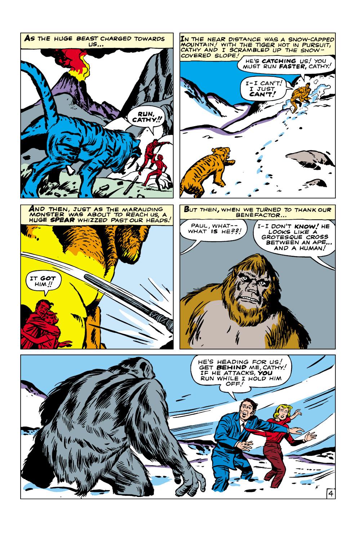 Read online Amazing Adventures (1961) comic -  Issue #3 - 5