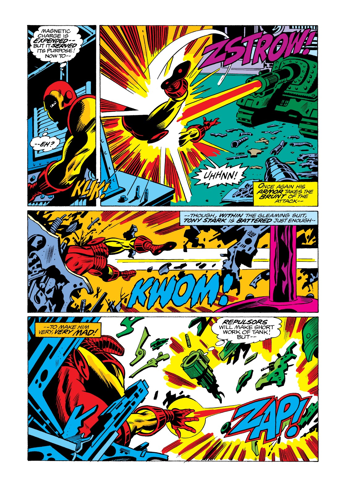 Read online Marvel Masterworks: The Invincible Iron Man comic -  Issue # TPB 11 (Part 3) - 89
