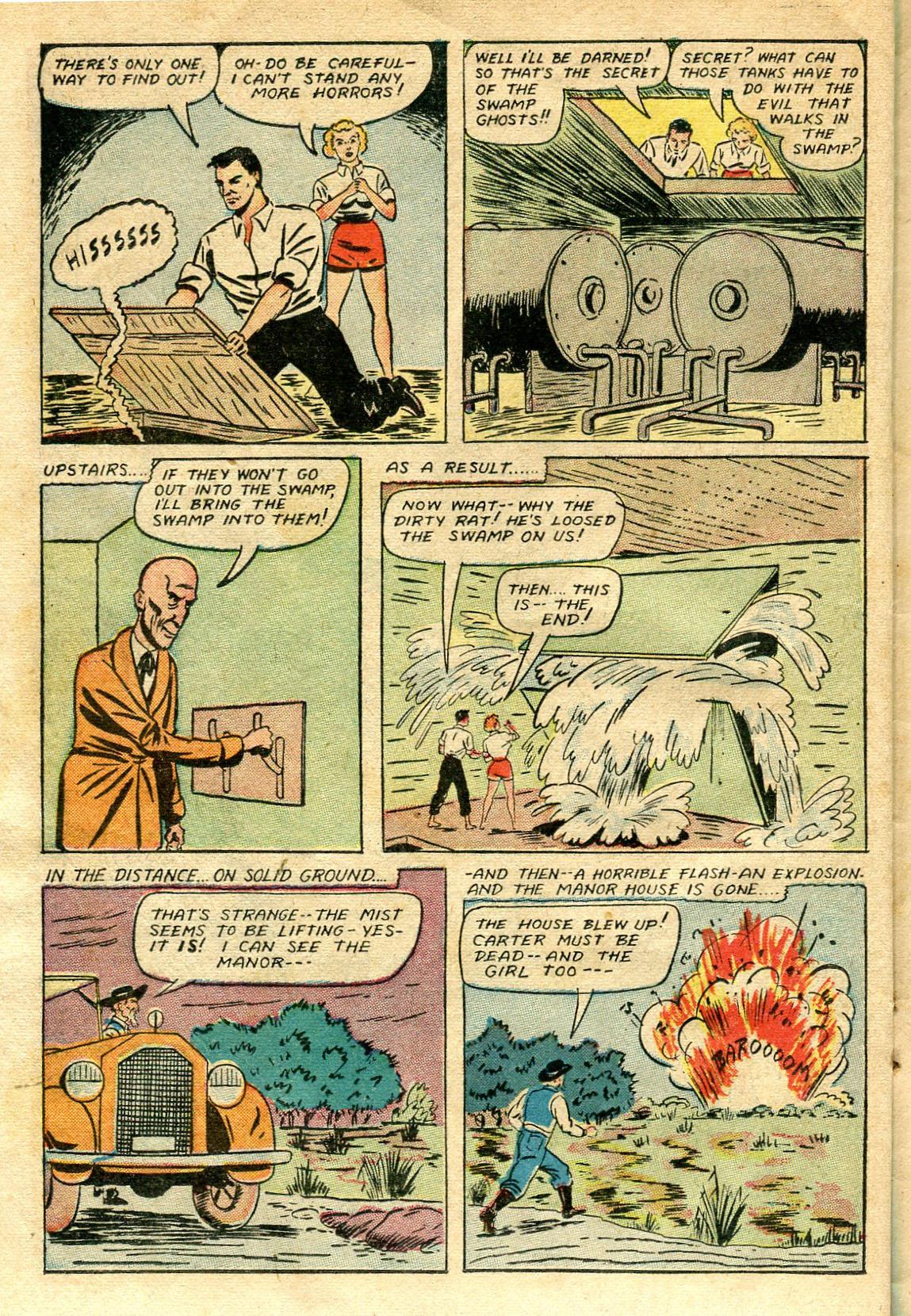 Read online Shadow Comics comic -  Issue #65 - 34