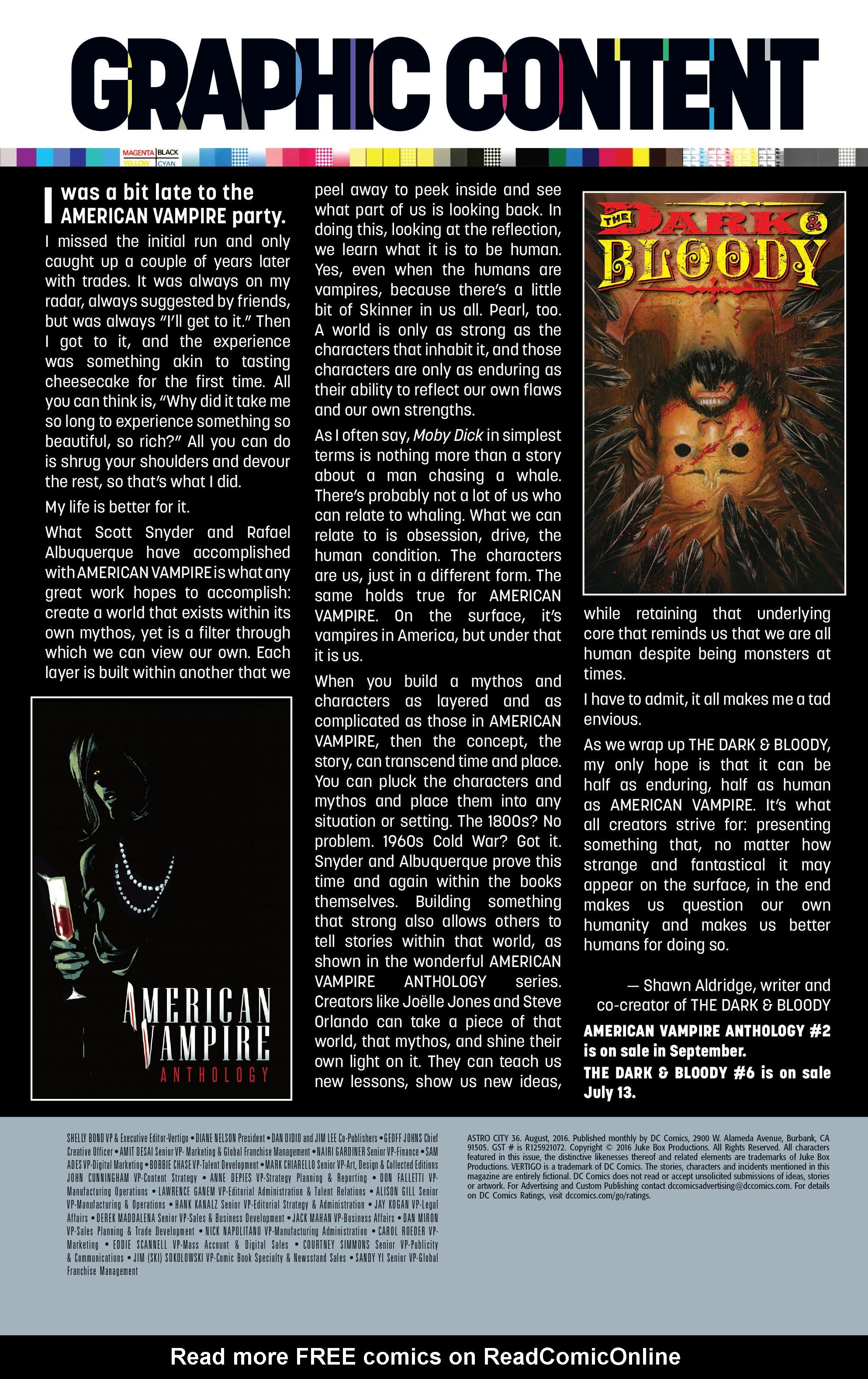 Read online Astro City comic -  Issue #36 - 27