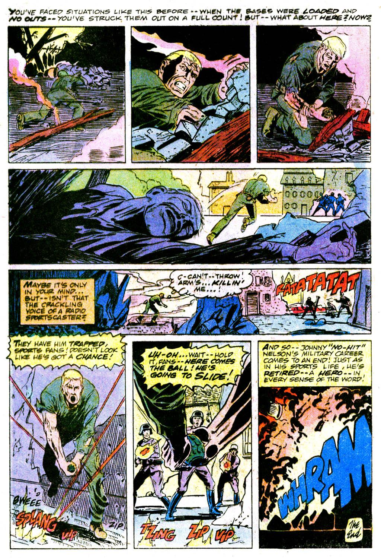 Read online Sgt. Rock comic -  Issue #364 - 31