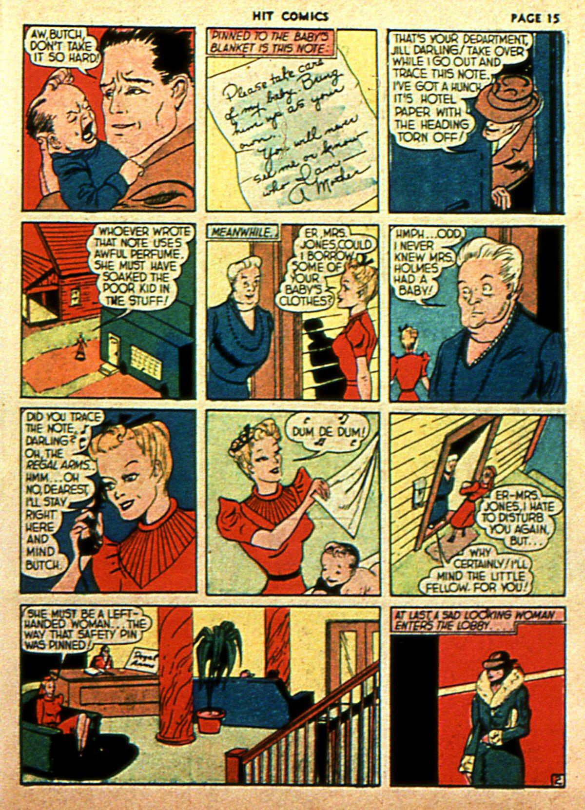 Read online Hit Comics comic -  Issue #2 - 17