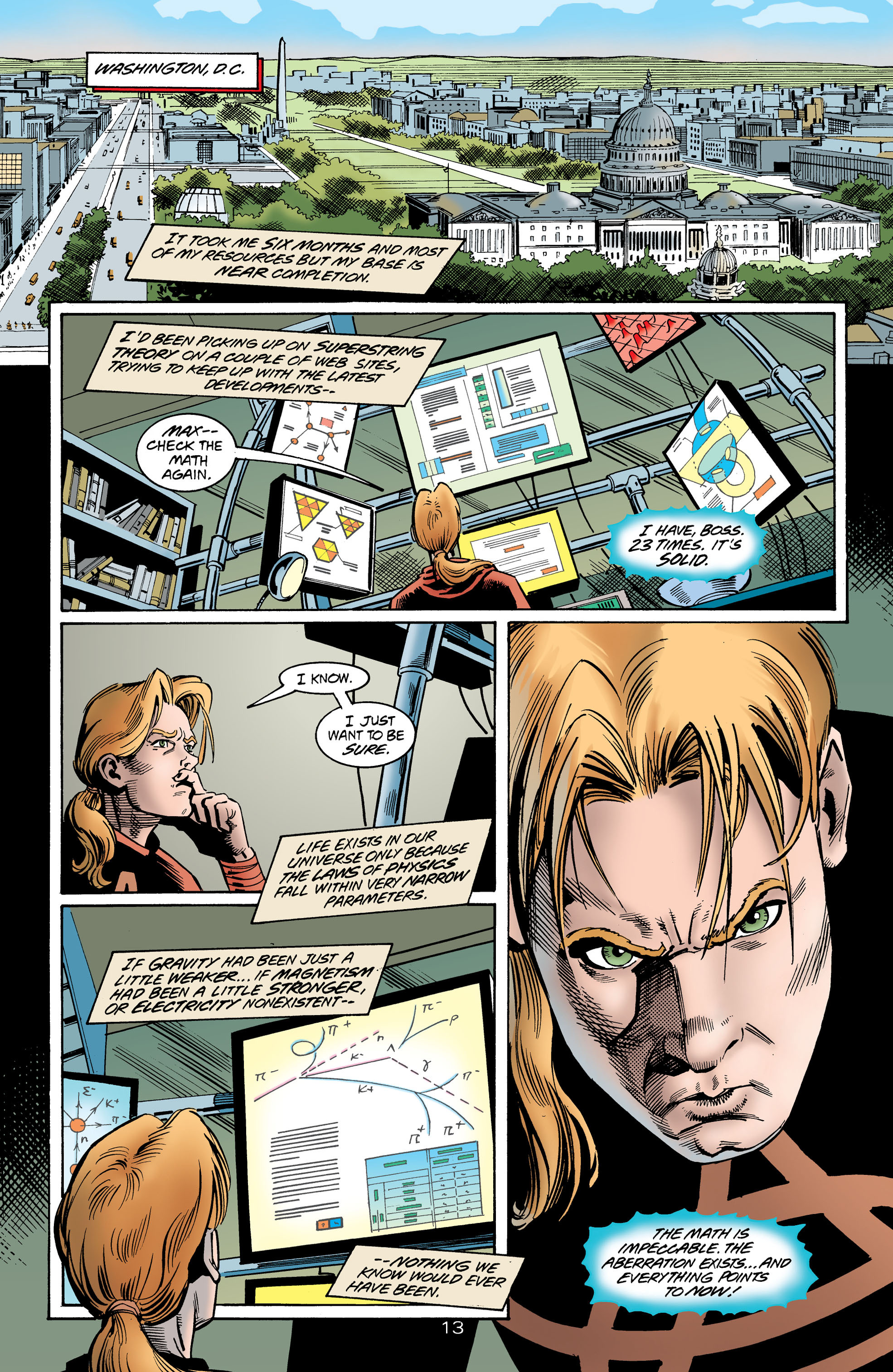 Read online Anarky (1999) comic -  Issue #1 - 14