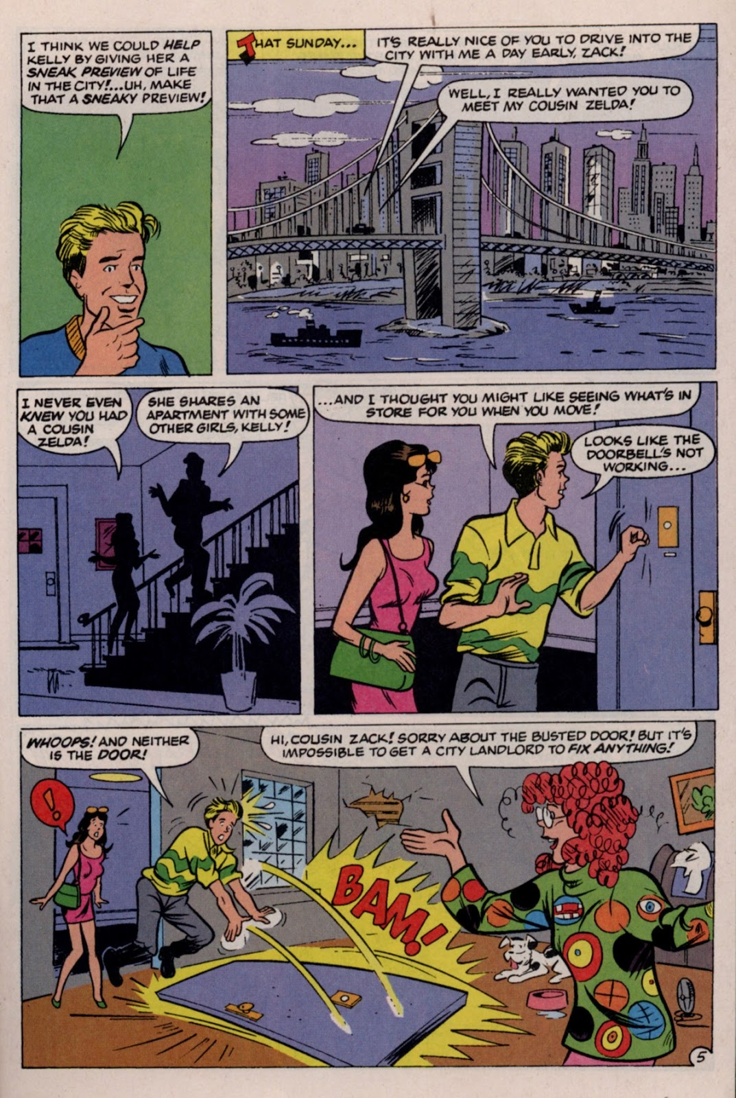 Read online Saved By The Bell comic -  Issue #2 - 28