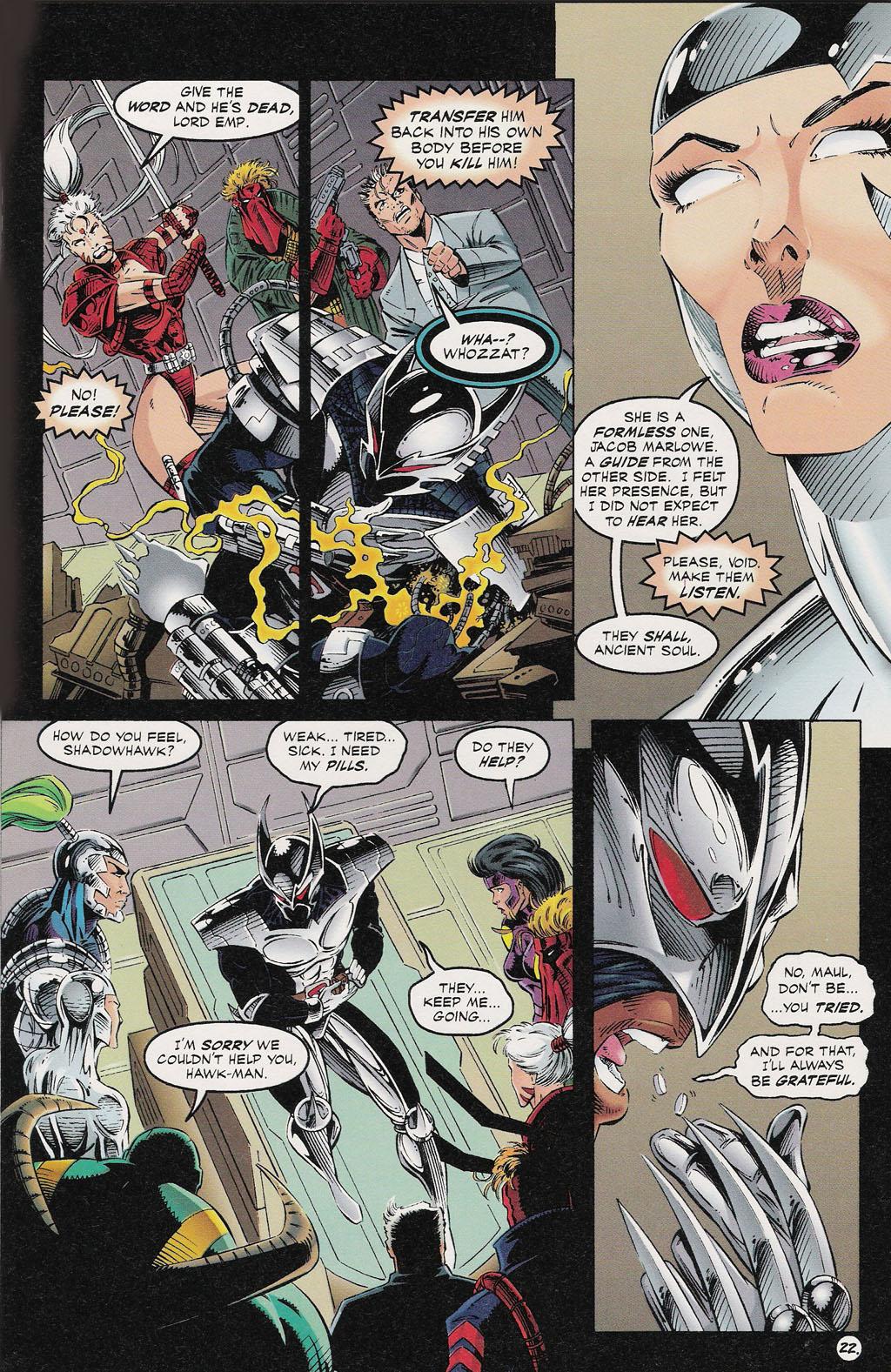 Read online ShadowHawk comic -  Issue #13 - 19
