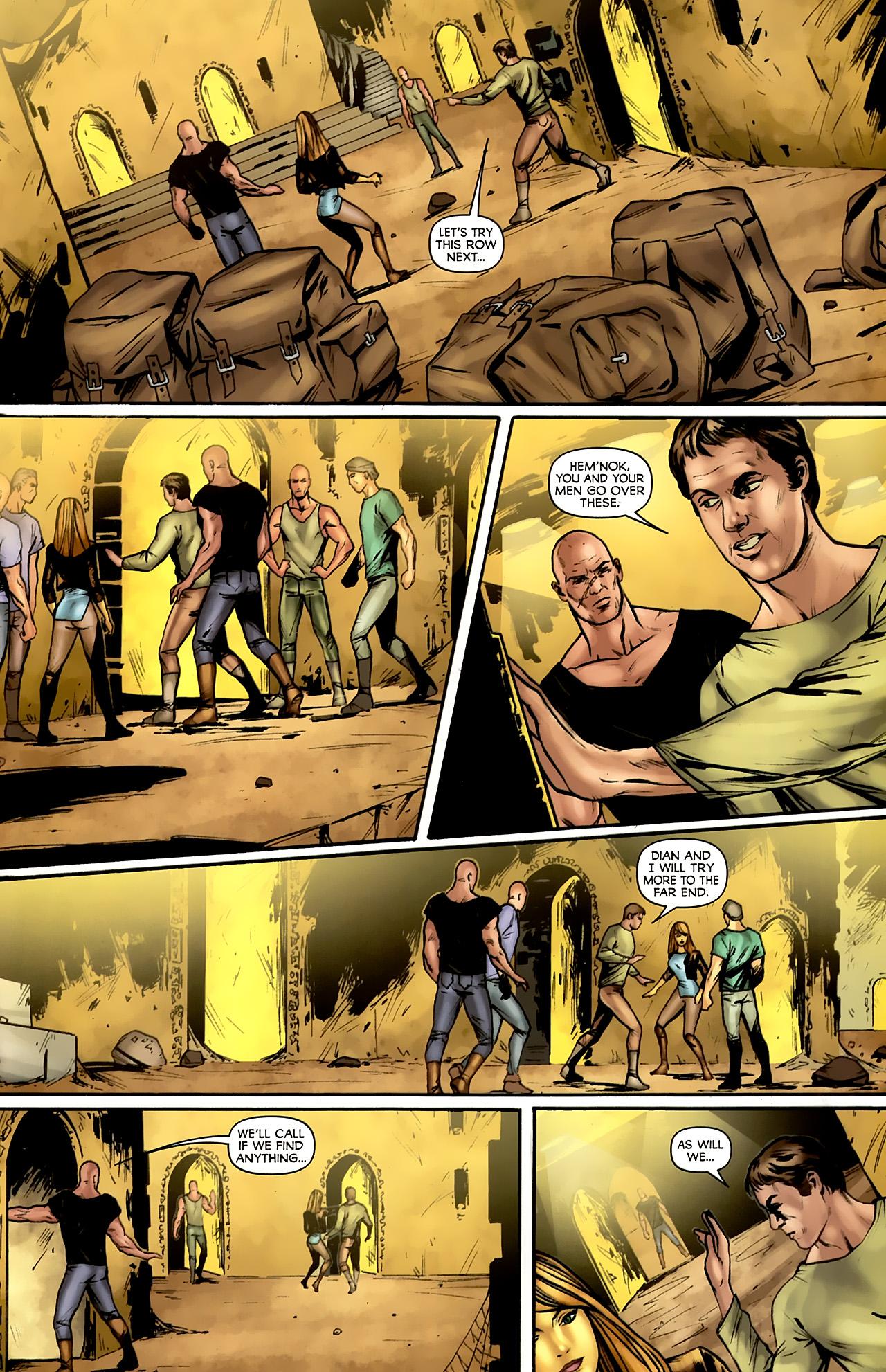 Read online Stargate: Daniel Jackson comic -  Issue #4 - 15
