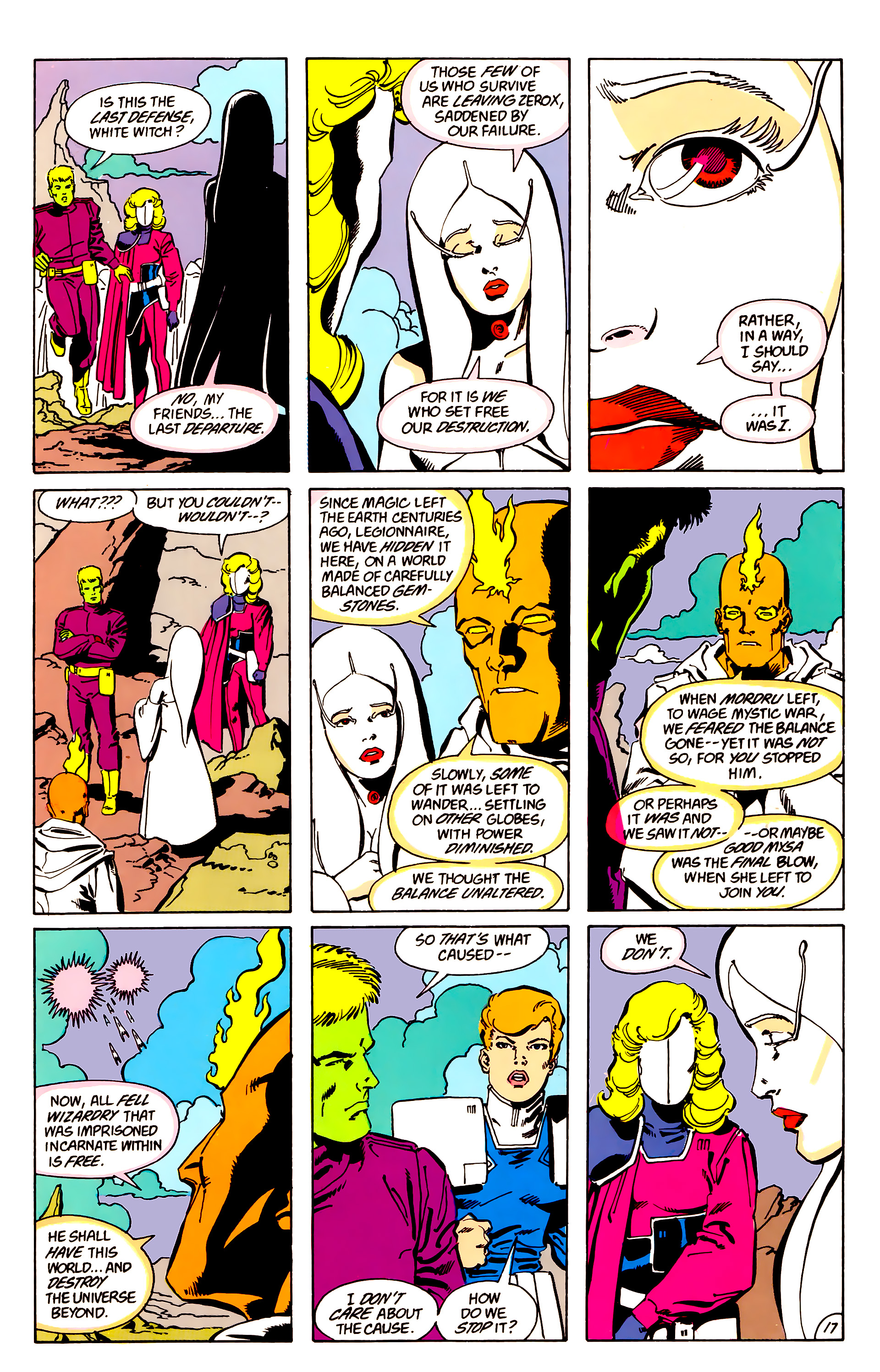 Legion of Super-Heroes (1984) 63 Page 17