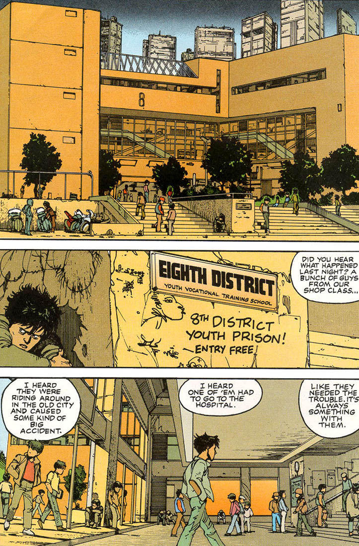 Read online Akira comic -  Issue #1 - 26