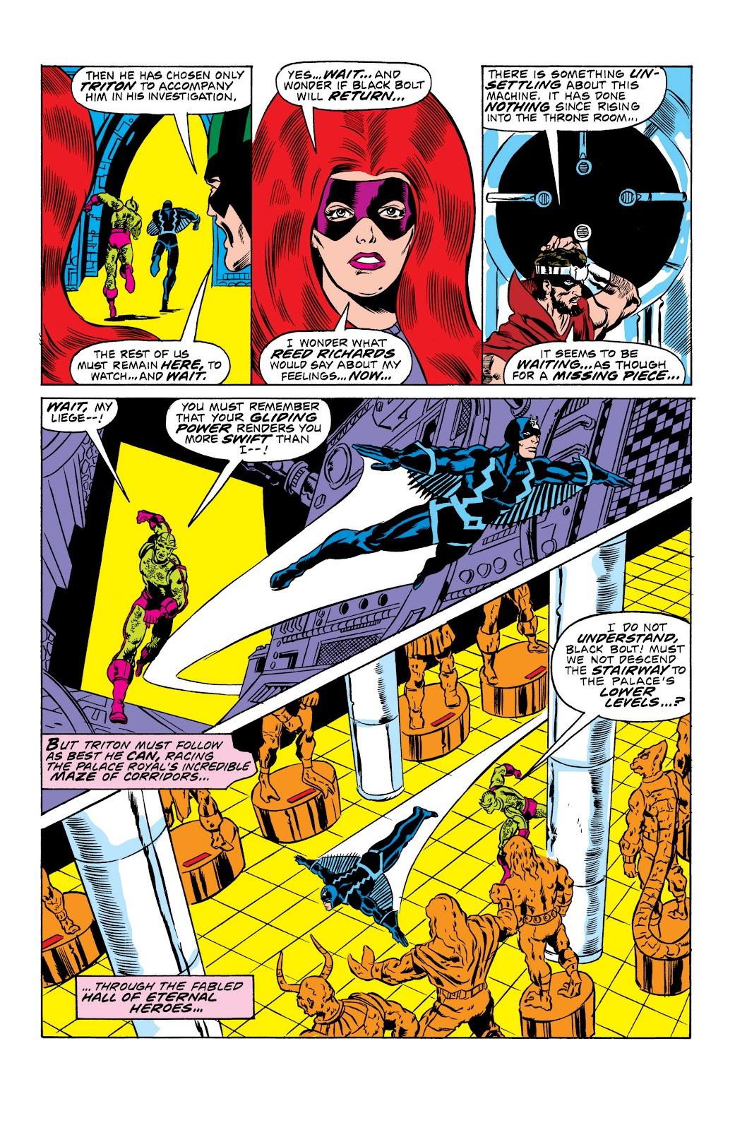 Read online Marvel Masterworks: The Inhumans comic -  Issue # TPB 2 (Part 1) - 20
