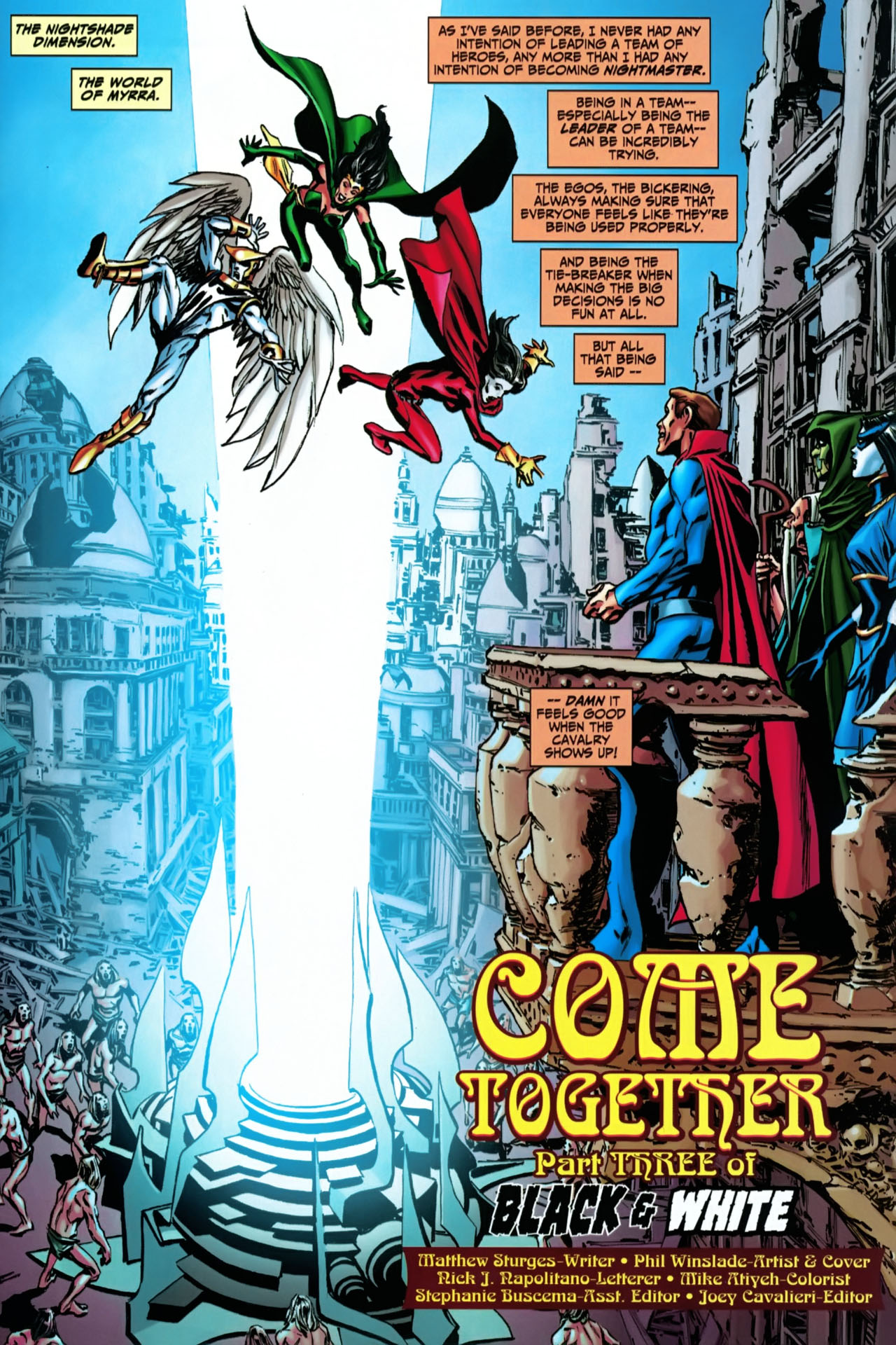 Read online Shadowpact comic -  Issue #22 - 2