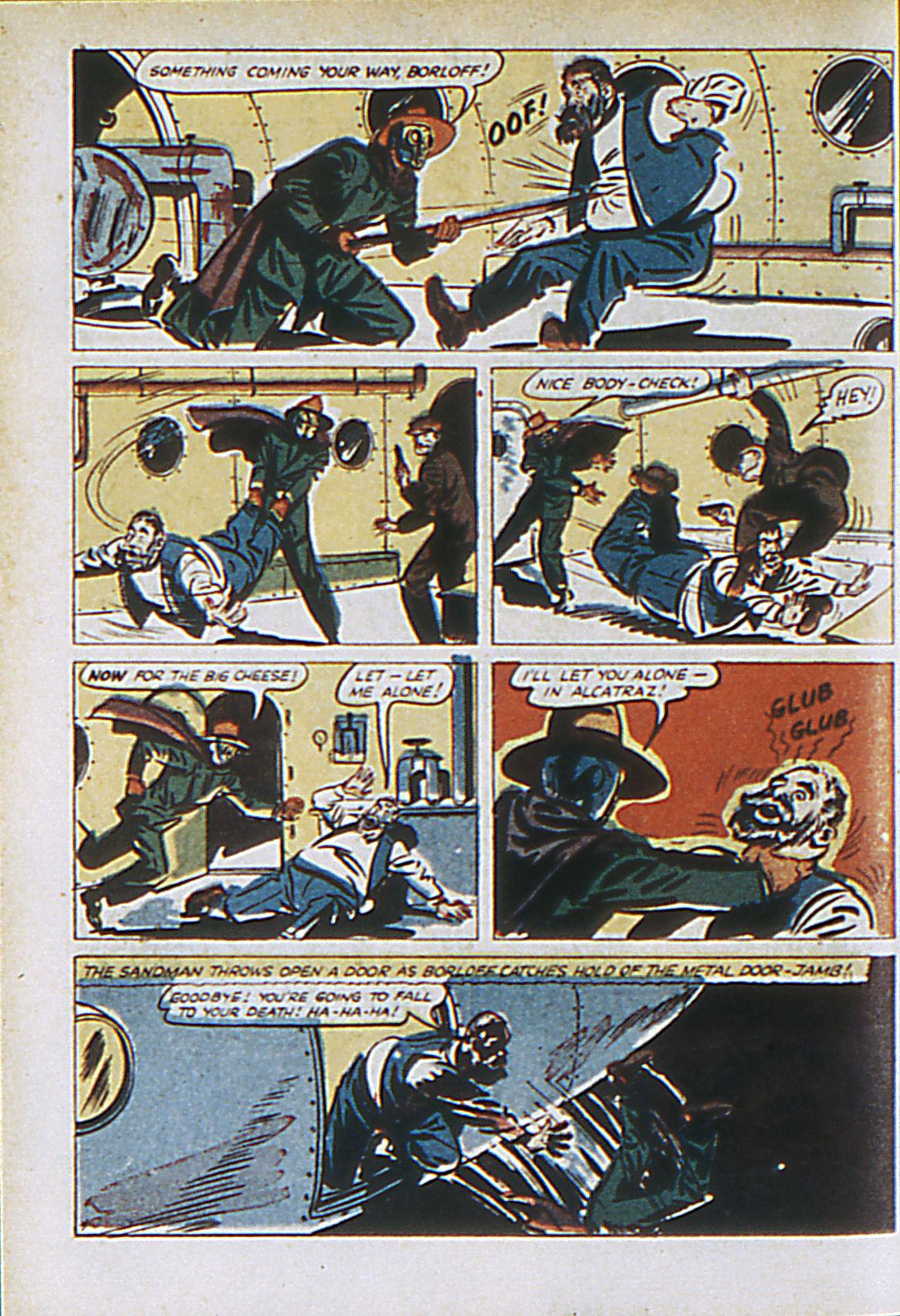 Read online Adventure Comics (1938) comic -  Issue #61 - 63