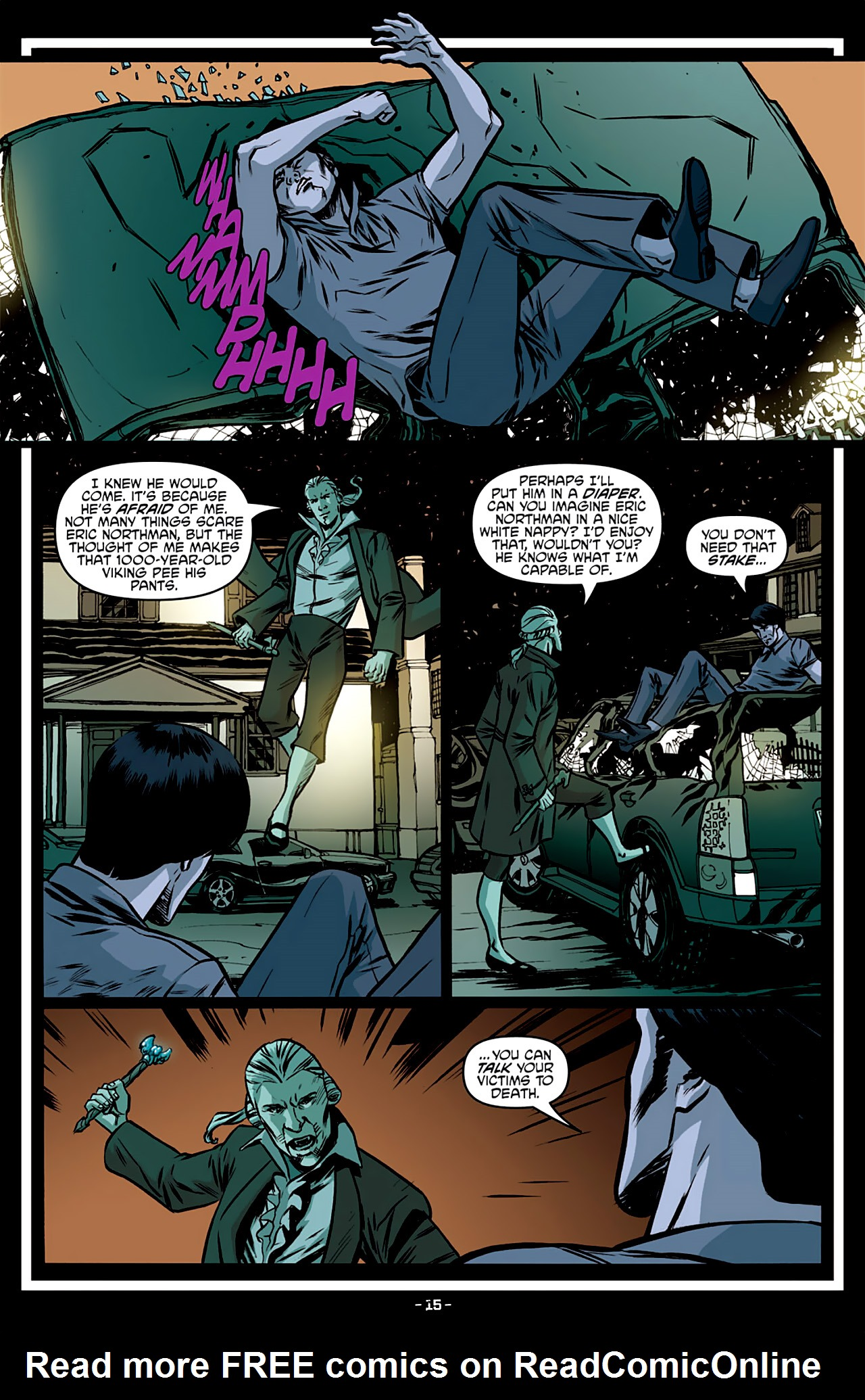 Read online True Blood: French Quarter comic -  Issue #3 - 20