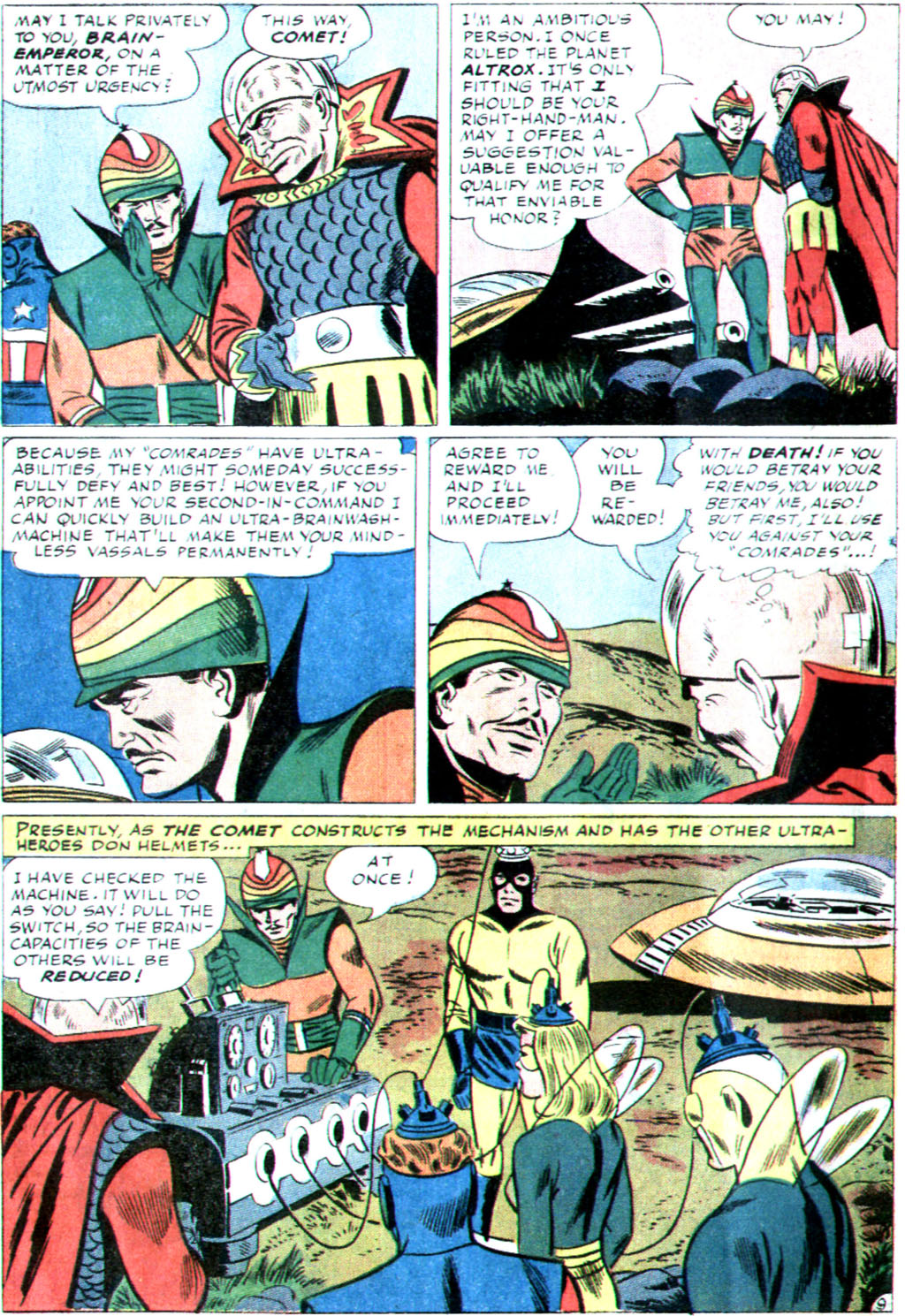 The Mighty Crusaders (1965) Issue #1 #1 - English 22