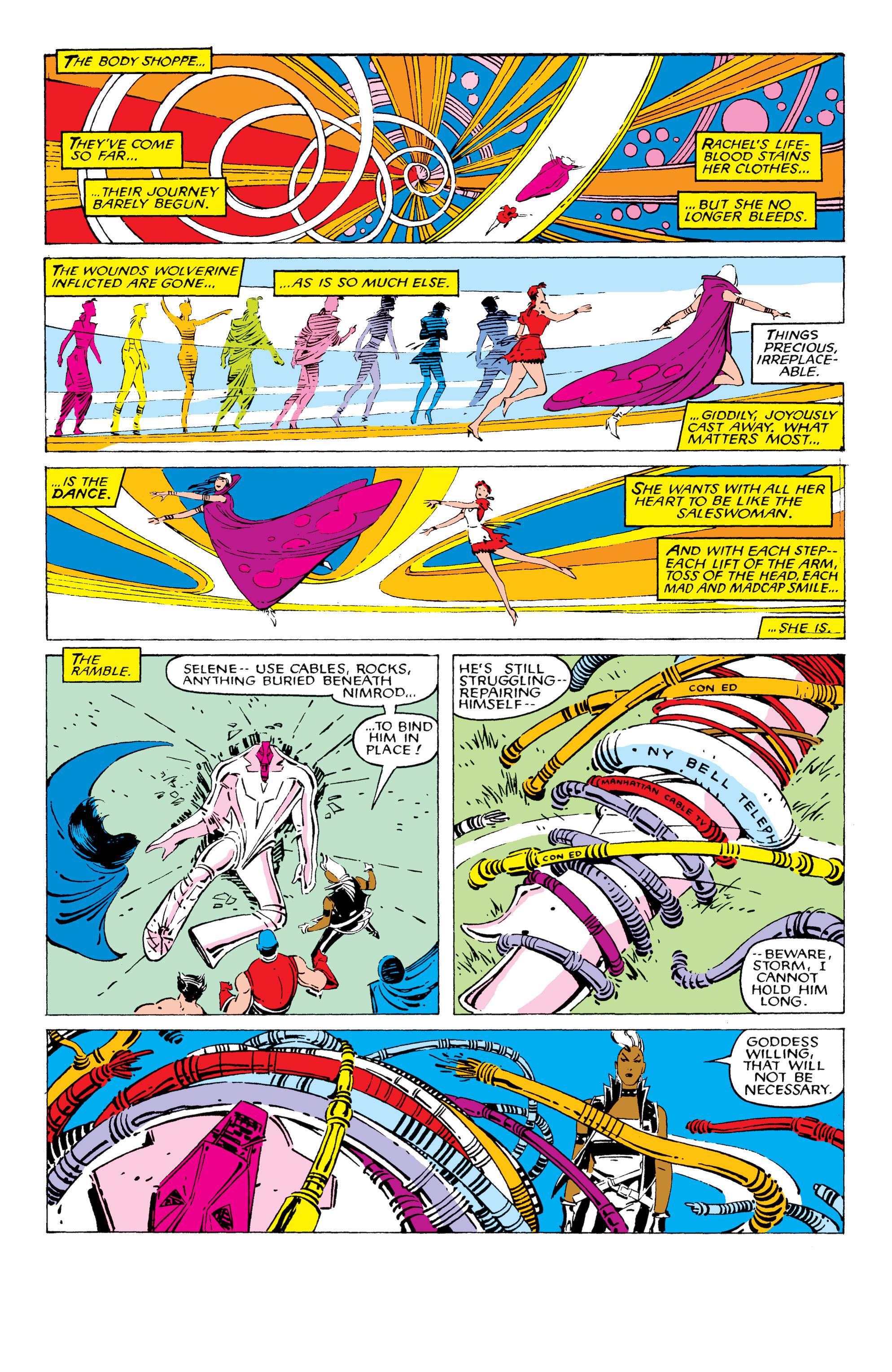 Read online Uncanny X-Men (1963) comic -  Issue #209 - 20