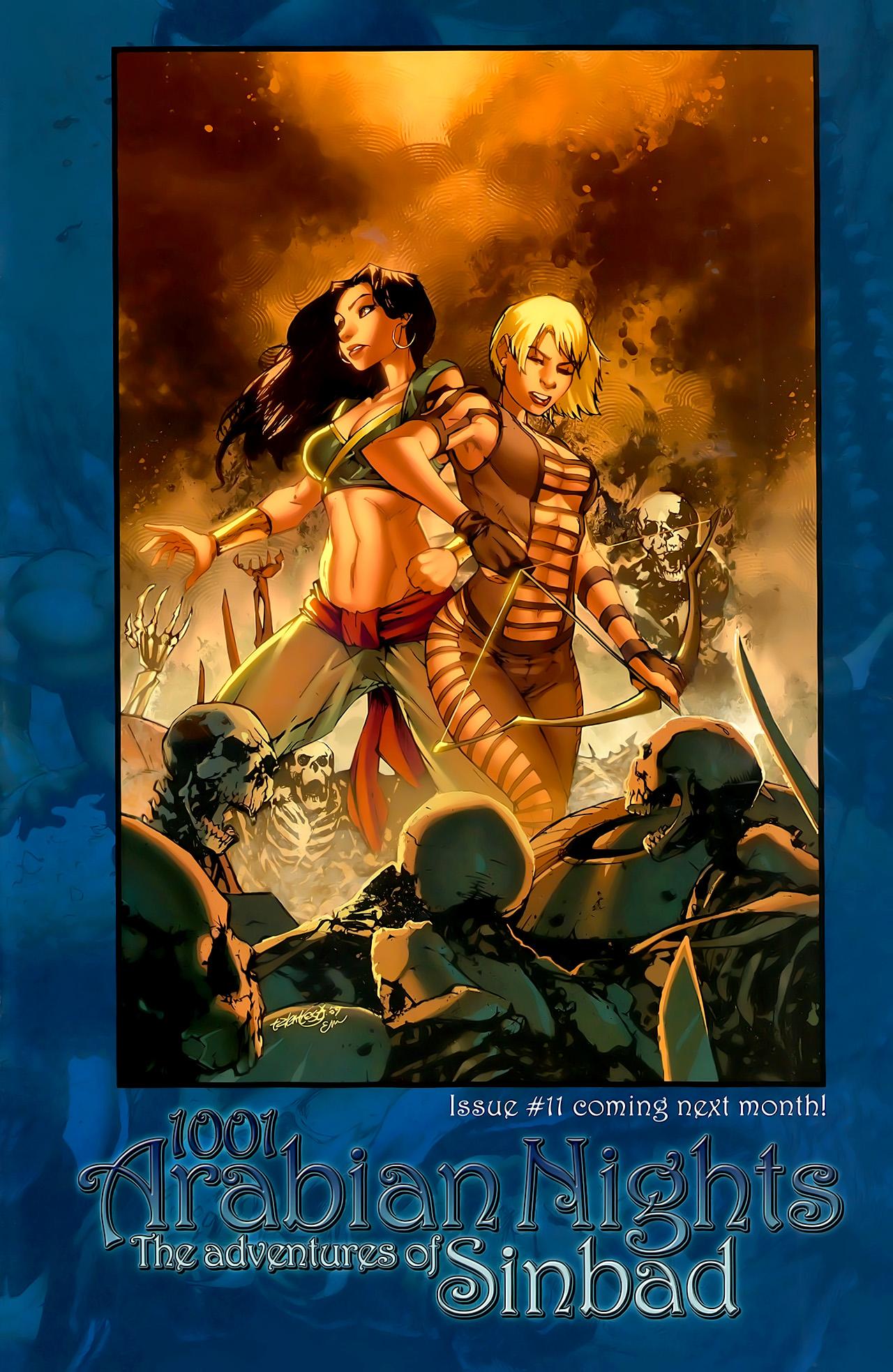 Read online 1001 Arabian Nights: The Adventures of Sinbad comic -  Issue #10 - 25