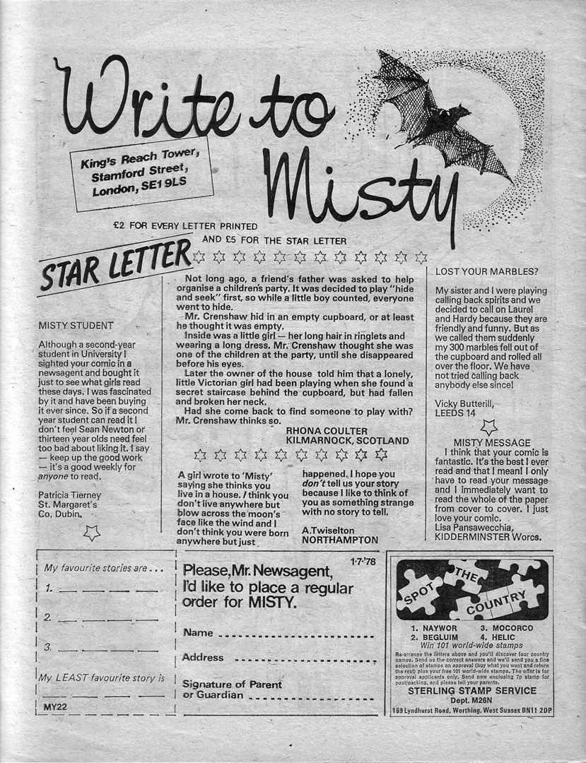 Read online Misty comic -  Issue #22 - 26