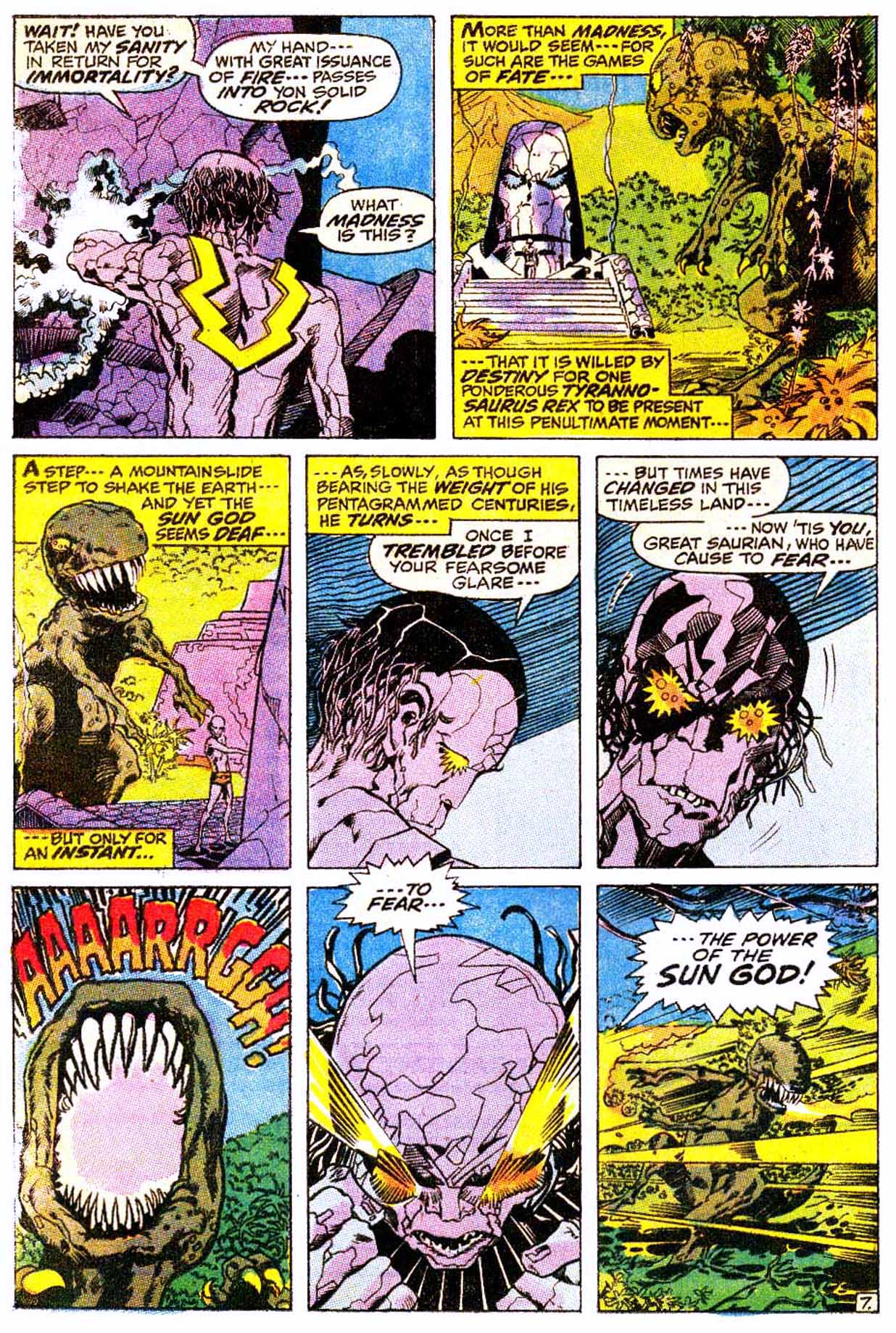 Read online Astonishing Tales (1970) comic -  Issue #4 - 18