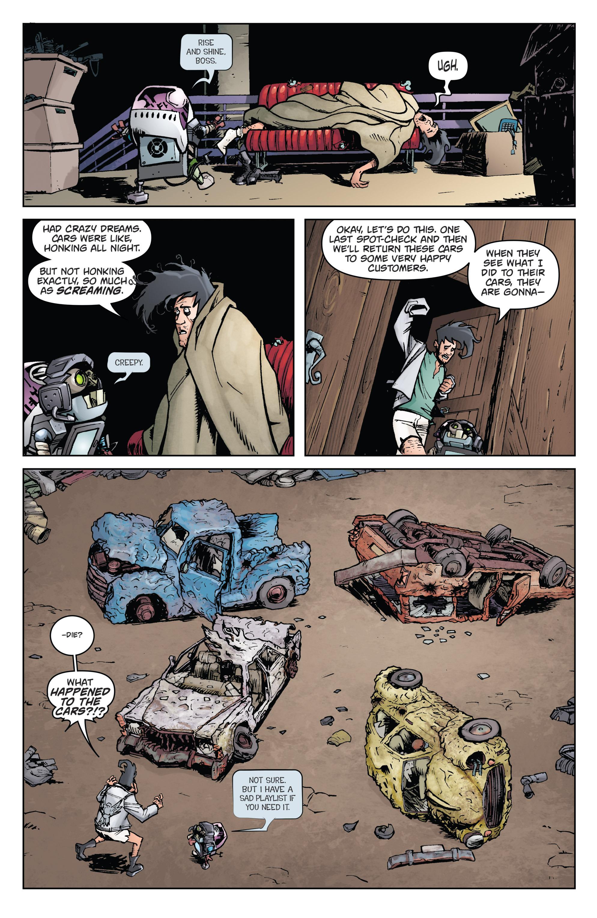 Read online Monster Motors comic -  Issue # Full - 10