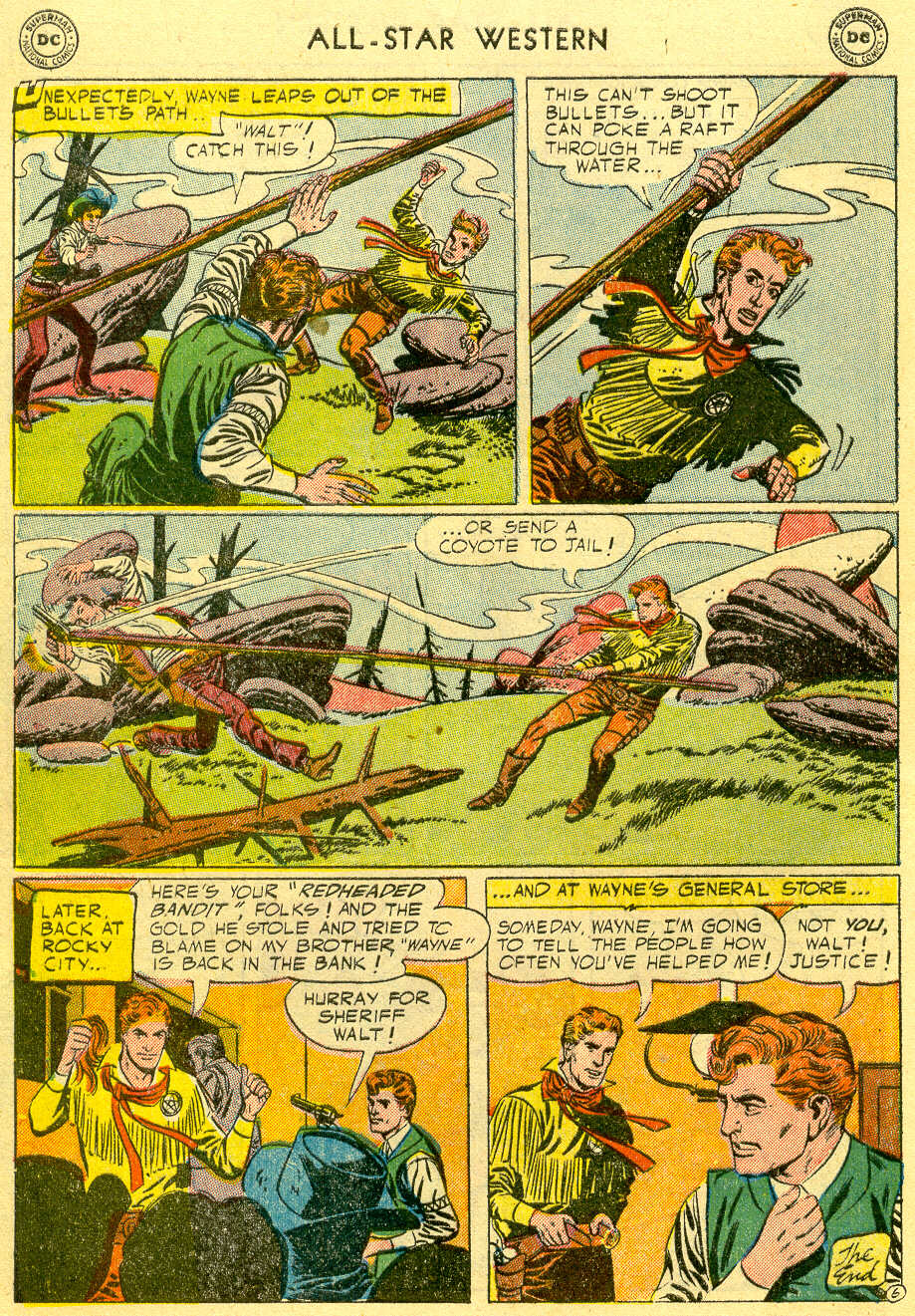 Read online All-Star Western (1951) comic -  Issue #82 - 8