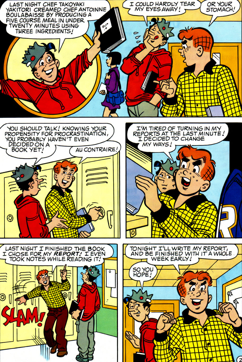 Read online Archie (1960) comic -  Issue #562 - 19