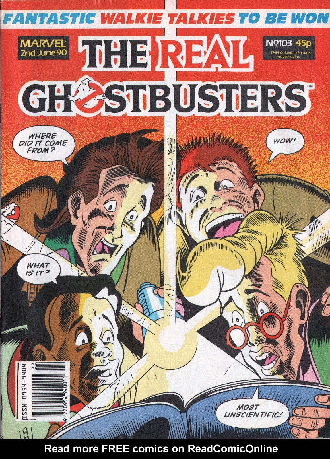 The Real Ghostbusters 103 Page 1