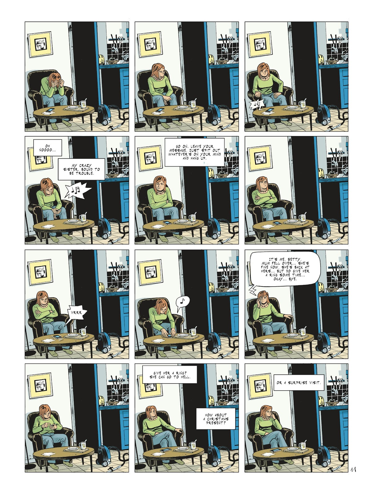 Read online Maggy Garrisson comic -  Issue #2 - 13