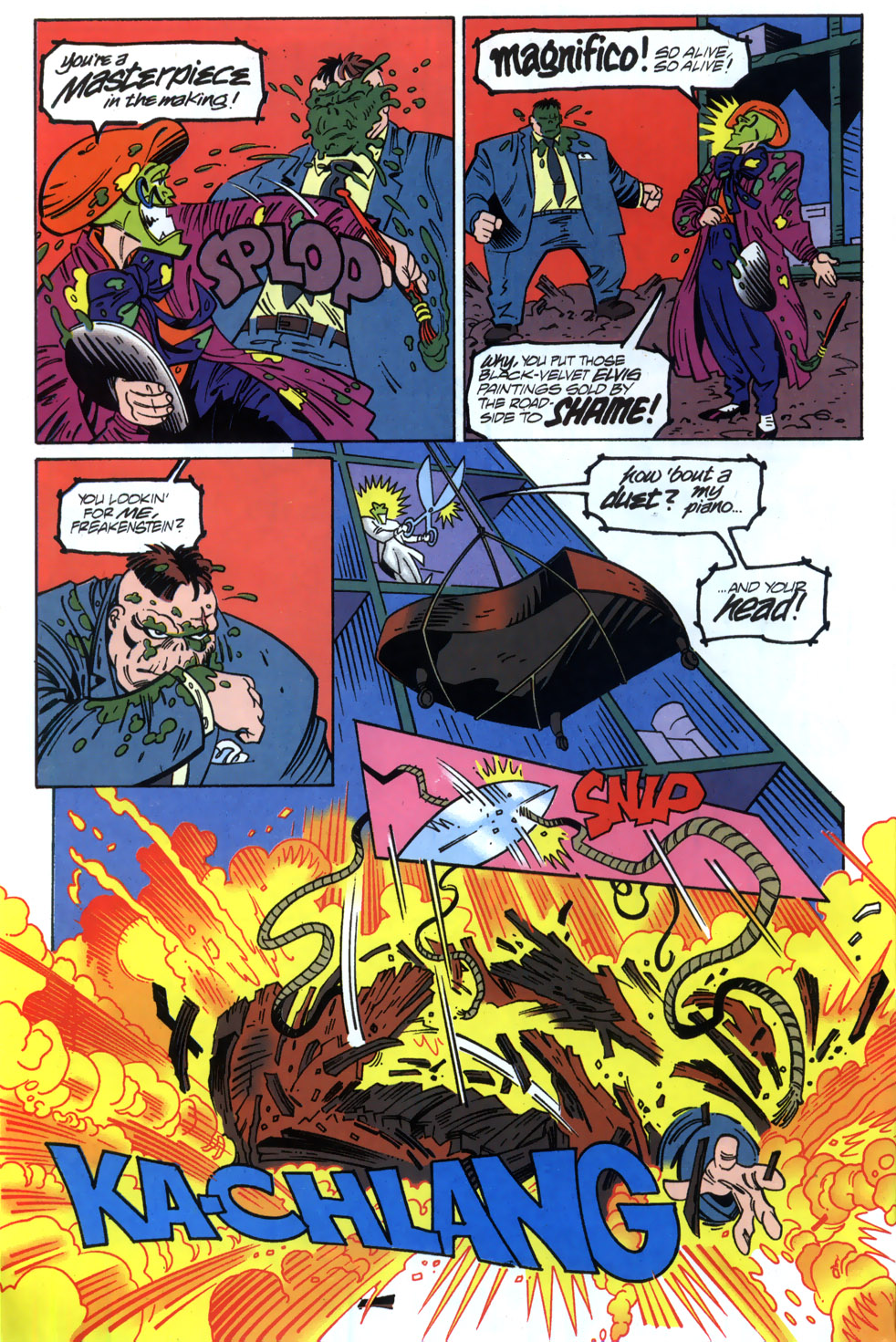 Read online Adventures Of The Mask comic -  Issue #2 - 8