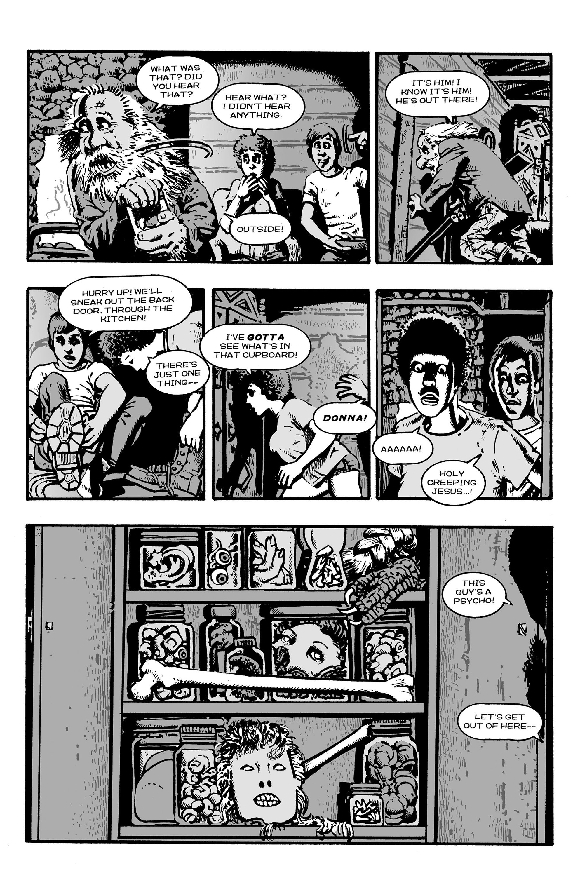 Read online Shadows on the Grave comic -  Issue #3 - 20