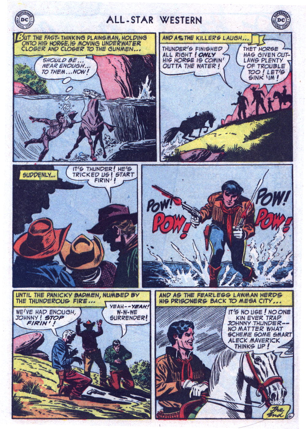 Read online All-Star Western (1951) comic -  Issue #74 - 33