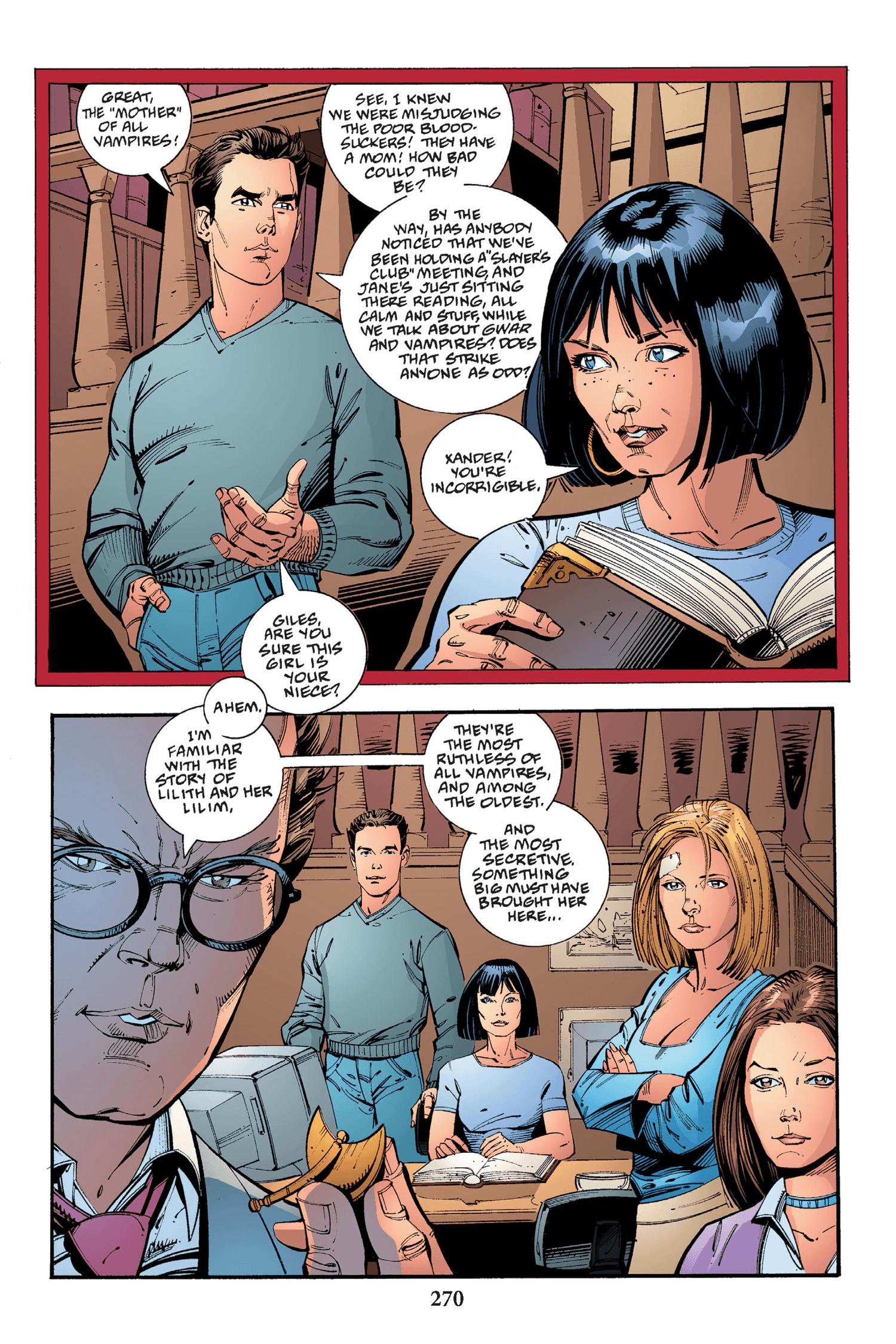 Read online Buffy the Vampire Slayer: Omnibus comic -  Issue # TPB 2 - 262