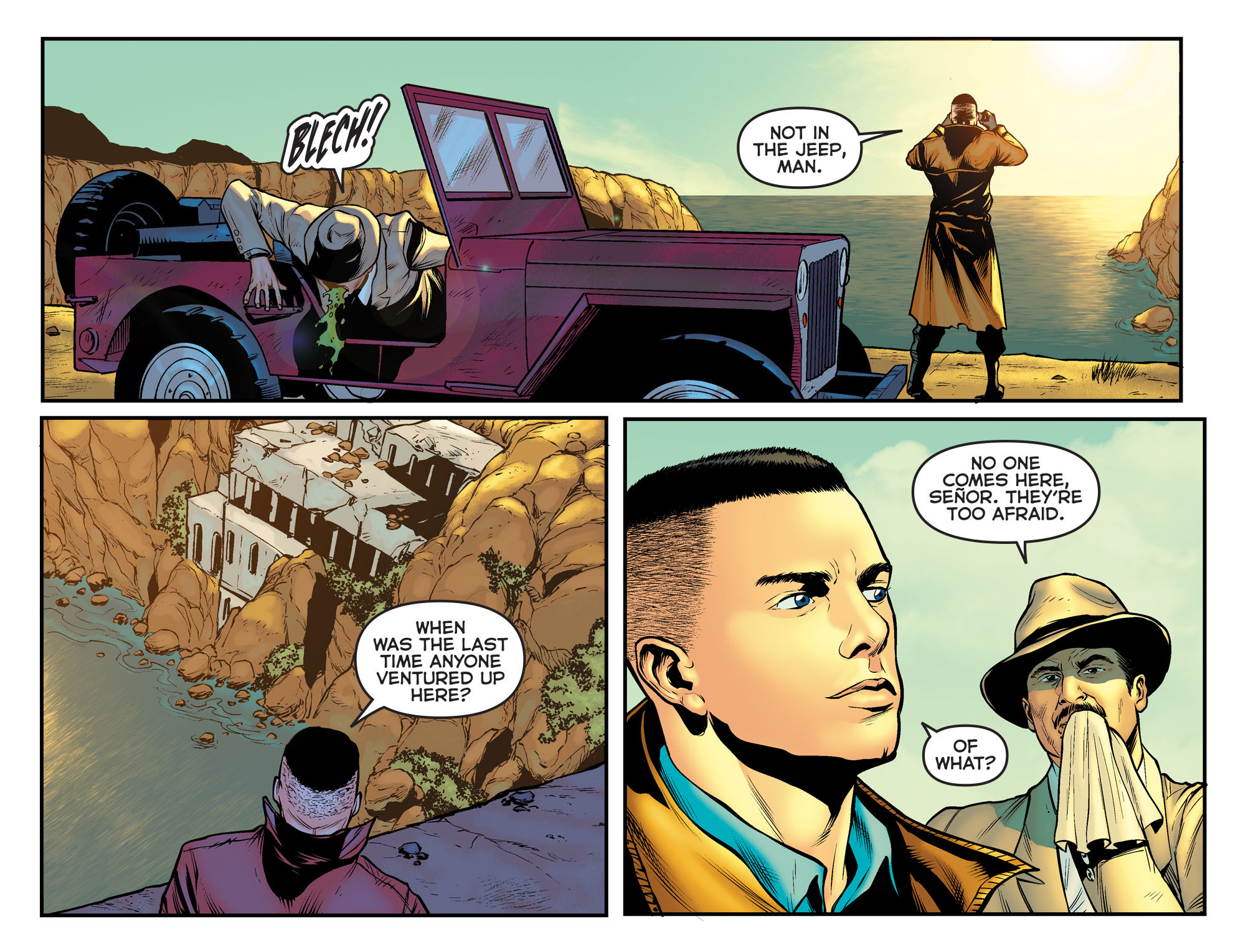 Read online Arrow: The Dark Archer comic -  Issue #11 - 14