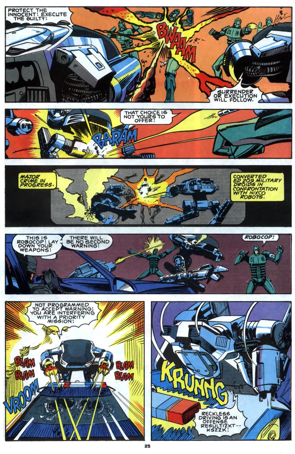 Read online Robocop (1990) comic -  Issue #2 - 20