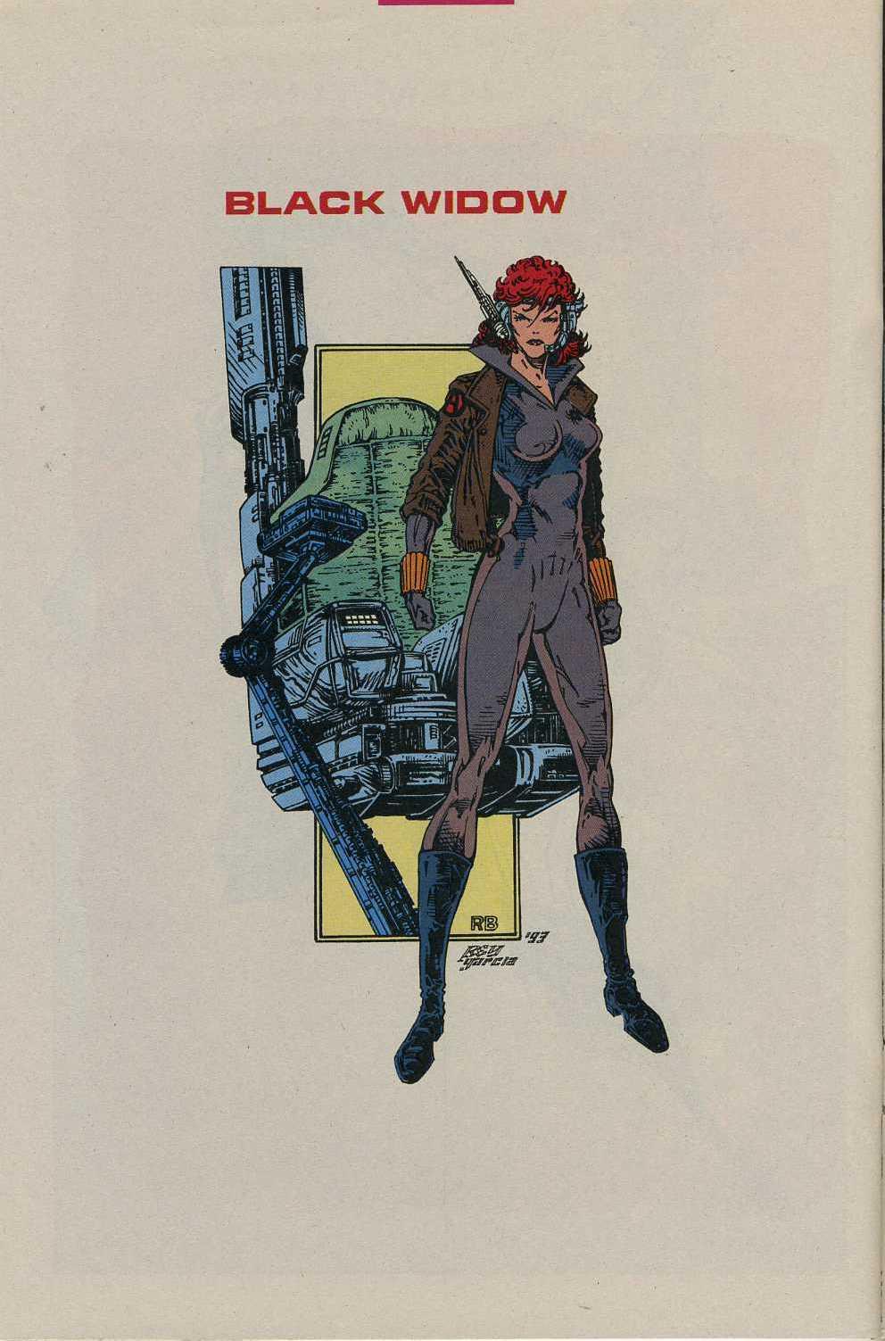 Read online Avengers Strike File comic -  Issue # Full - 21
