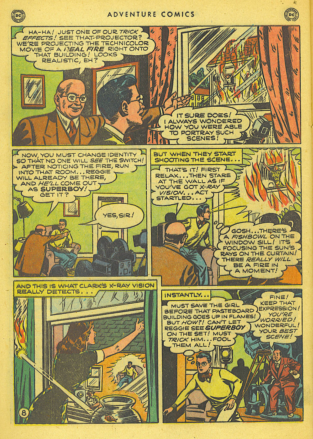 Read online Adventure Comics (1938) comic -  Issue #155 - 10