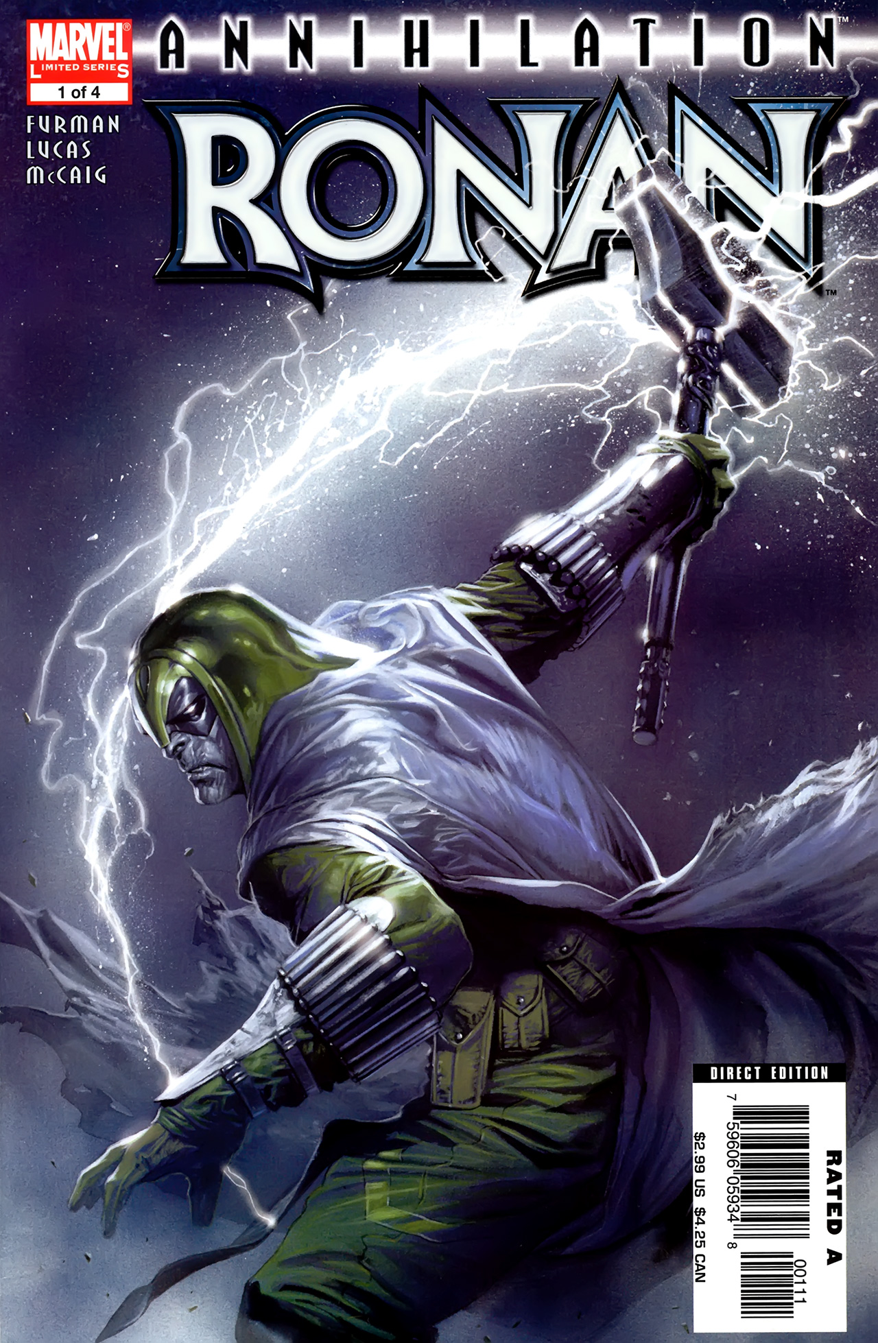 Read online Annihilation: Ronan comic -  Issue #1 - 1