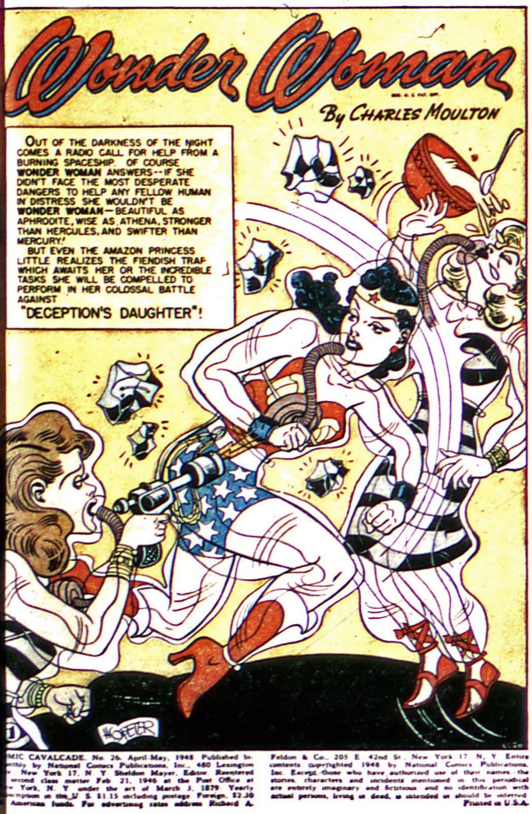 Comic Cavalcade issue 26 - Page 3