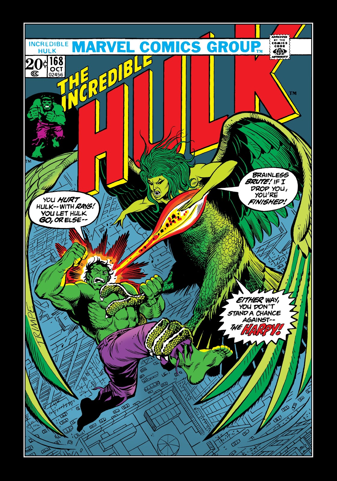 Read online Marvel Masterworks: The Incredible Hulk comic -  Issue # TPB 9 (Part 3) - 37