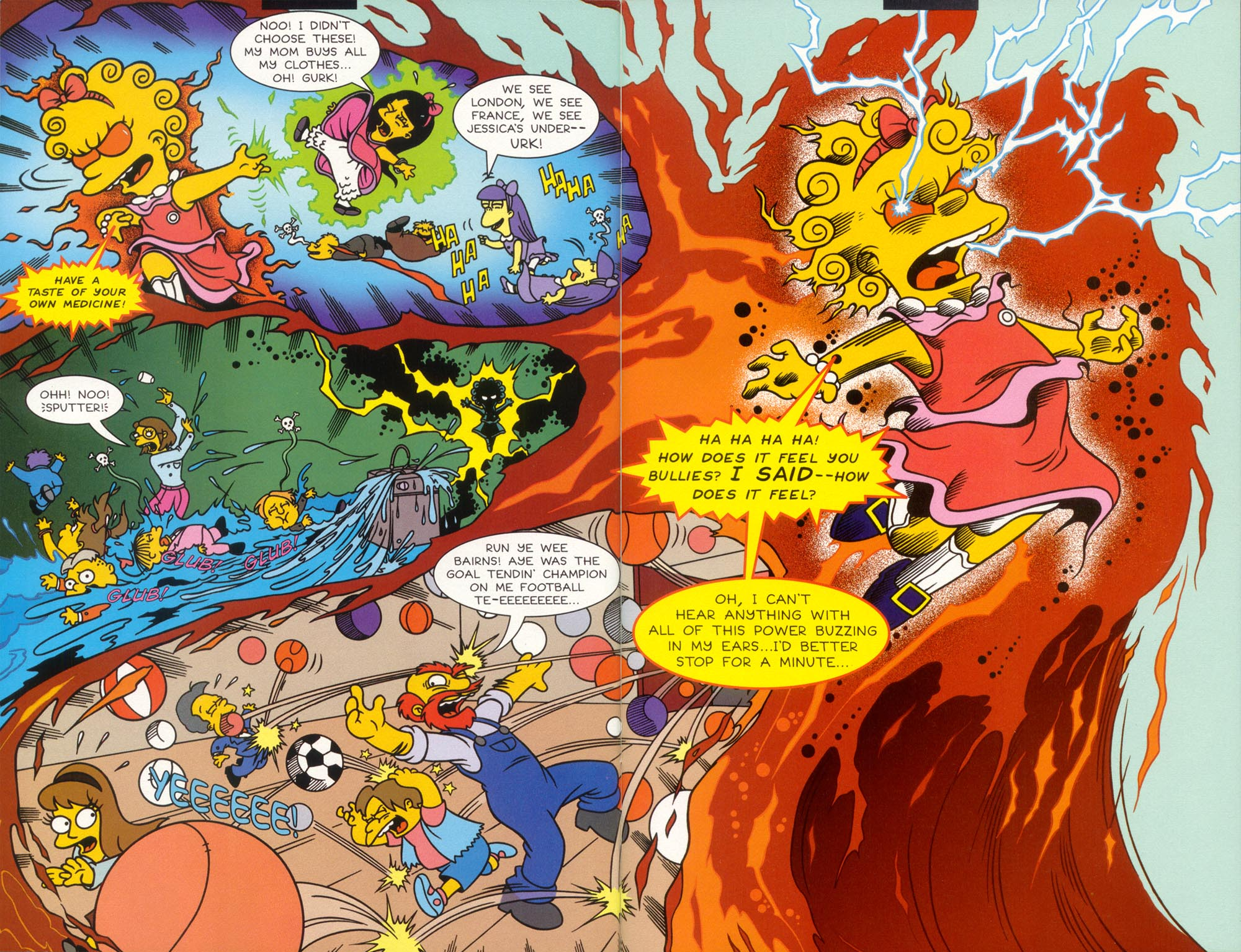 Read online Treehouse of Horror comic -  Issue #5 - 13