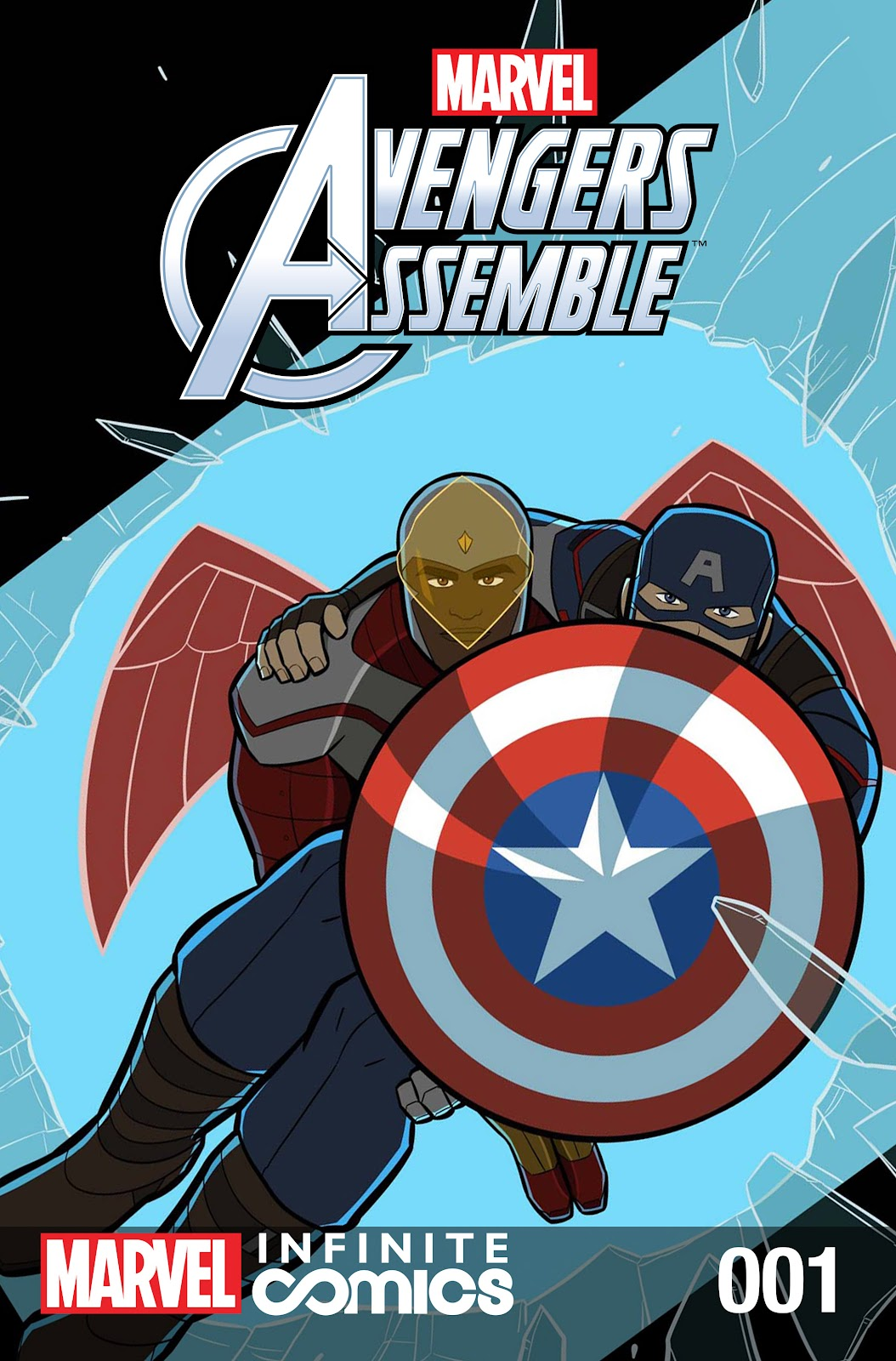 Marvel Universe Avengers Infinite Comic 1 Page 1
