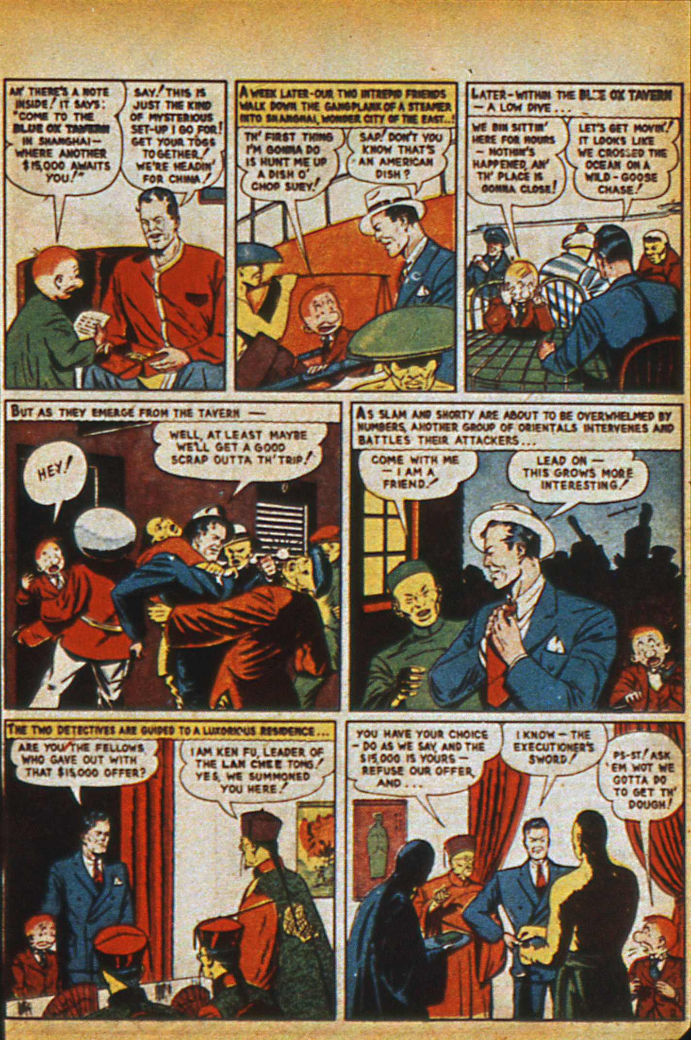 Read online Detective Comics (1937) comic -  Issue #36 - 57