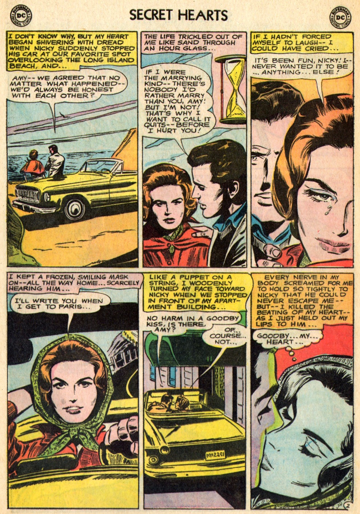 Read online Secret Hearts comic -  Issue #96 - 24