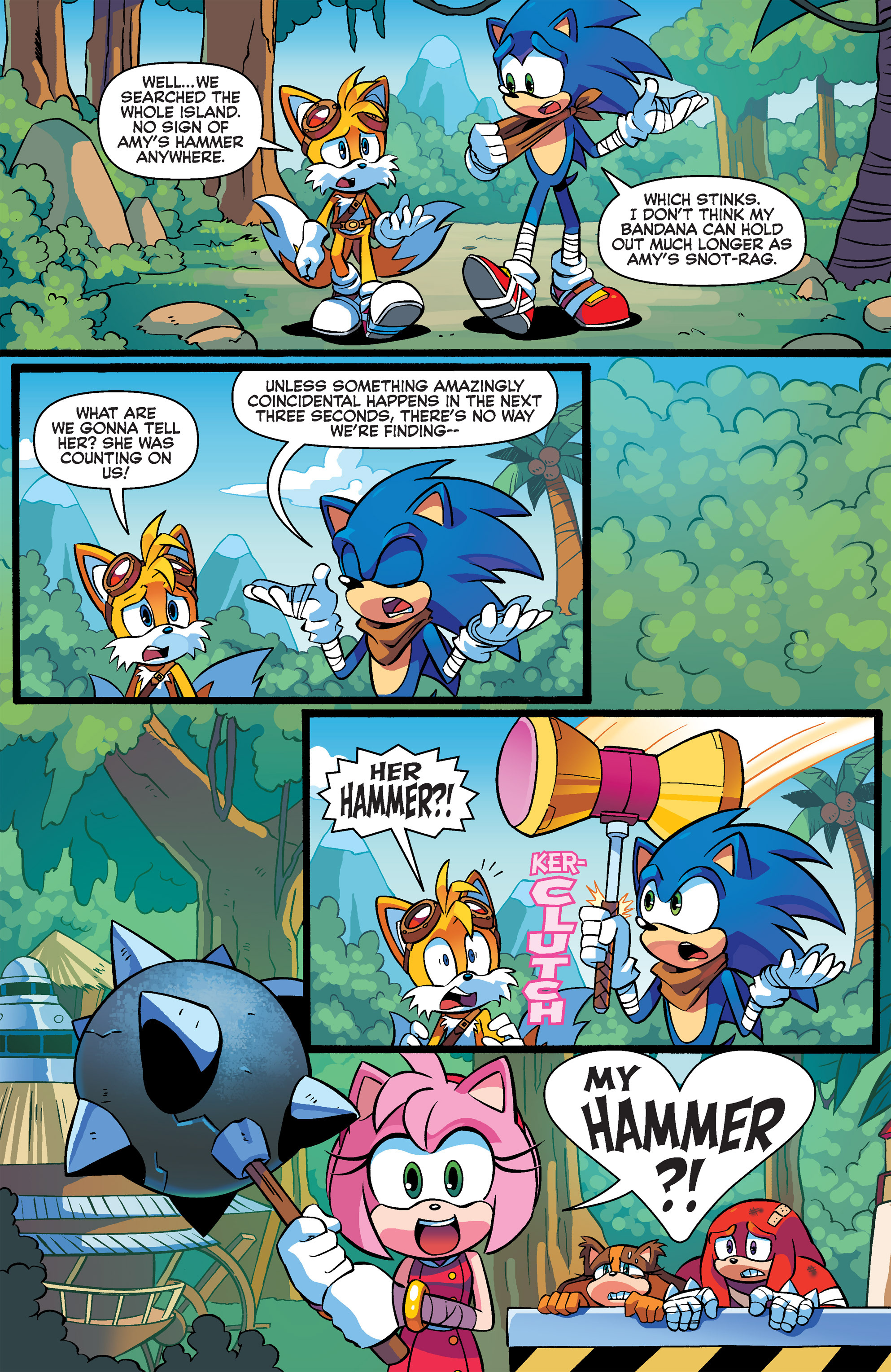 Read online Sonic Boom comic -  Issue #3 - 19