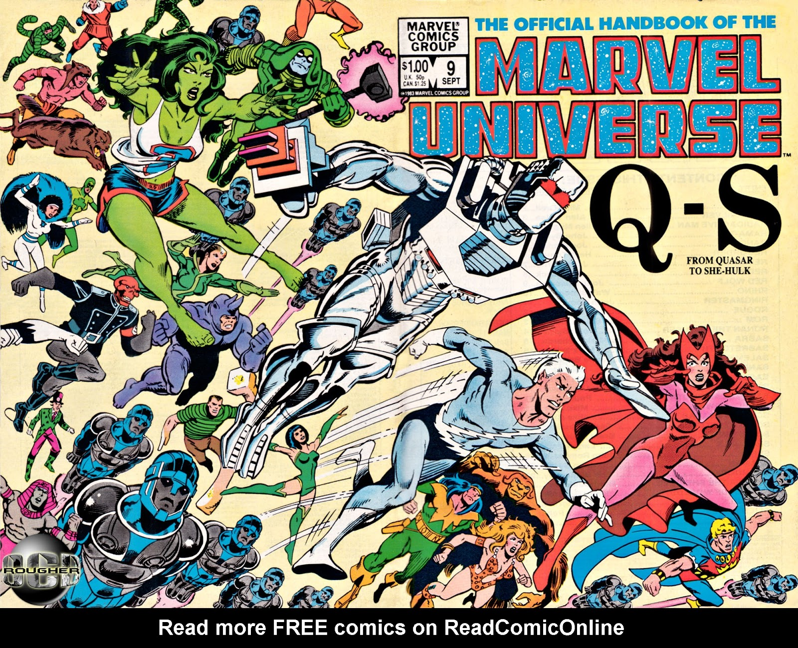The Official Handbook of the Marvel Universe 9 Page 1